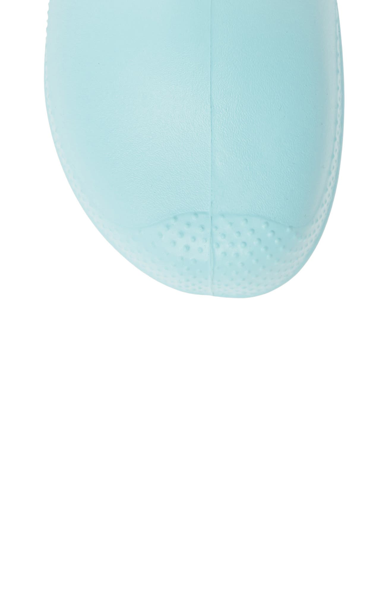 CROCS<SUP>™</SUP>,                             Handle It Waterproof Rain Boot,                             Alternate thumbnail 5, color,                             ICE BLUE