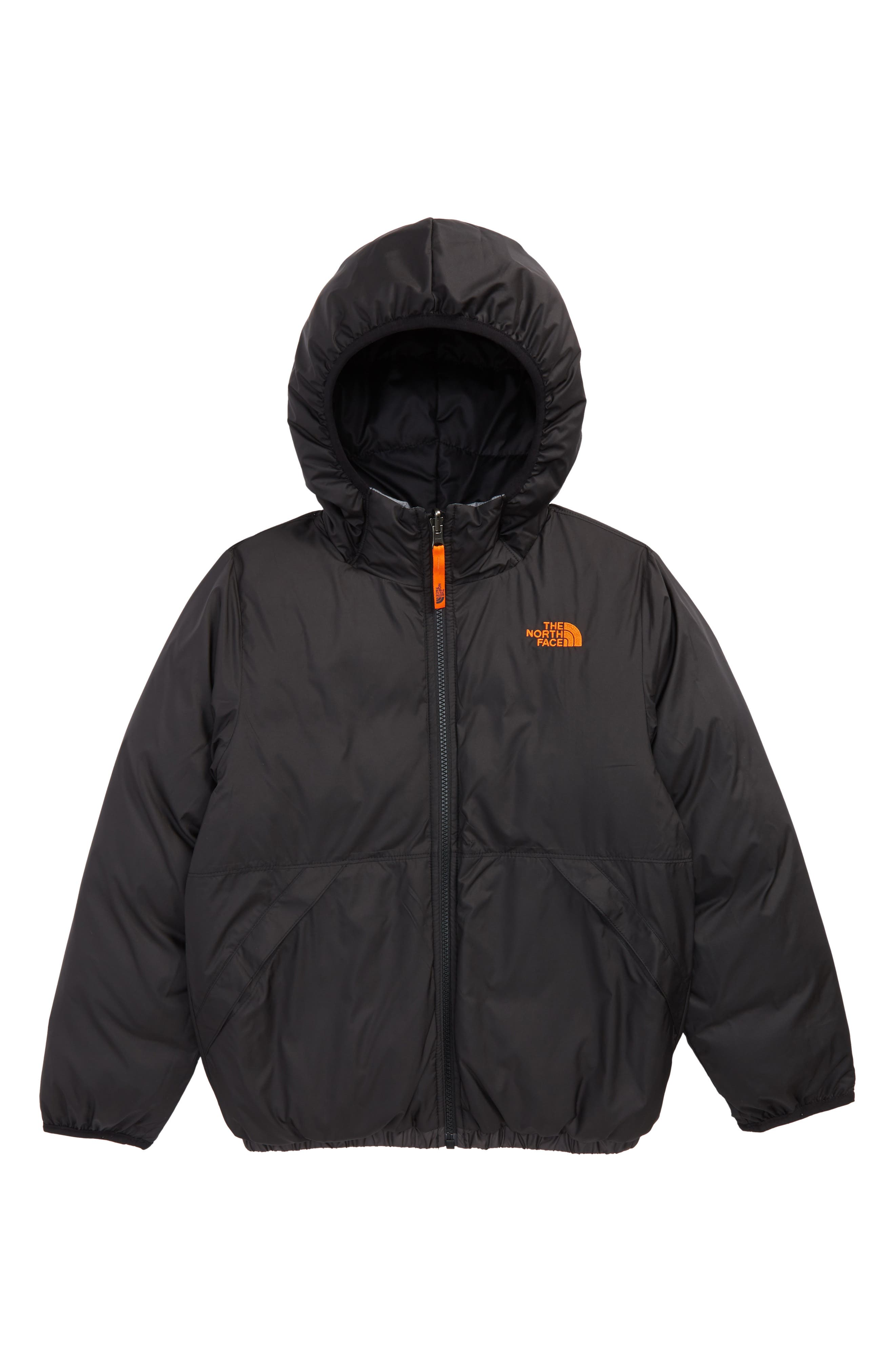 THE NORTH FACE,                             'Moondoggy' Water Repellent Reversible Down Jacket,                             Alternate thumbnail 2, color,                             BLACK/ GRAPHITE GREY