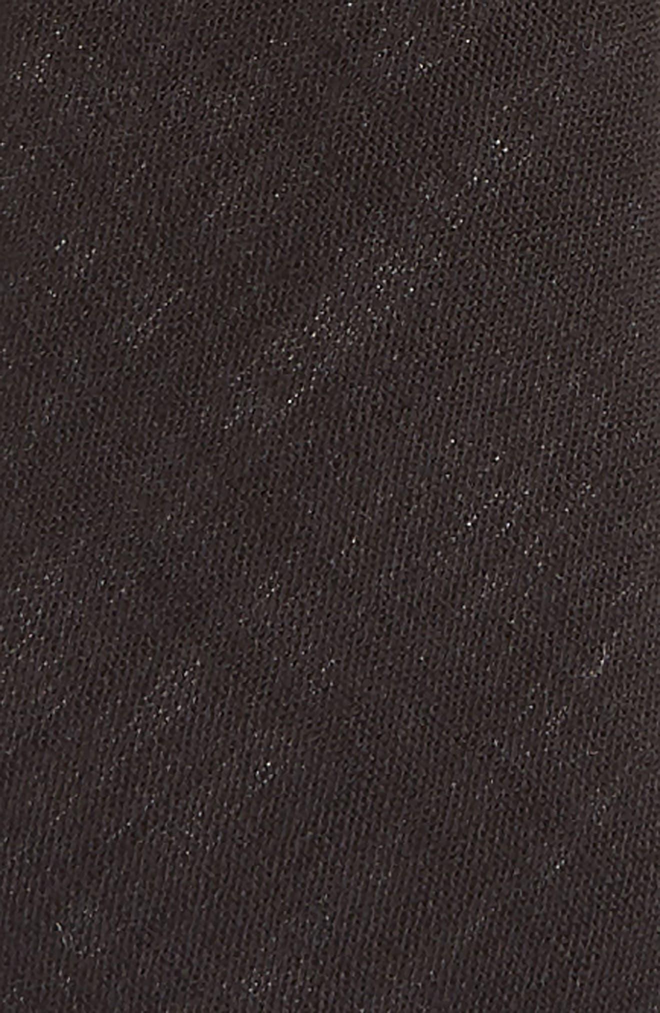 NORDSTROM,                             Solid Zip Tie,                             Alternate thumbnail 2, color,                             001