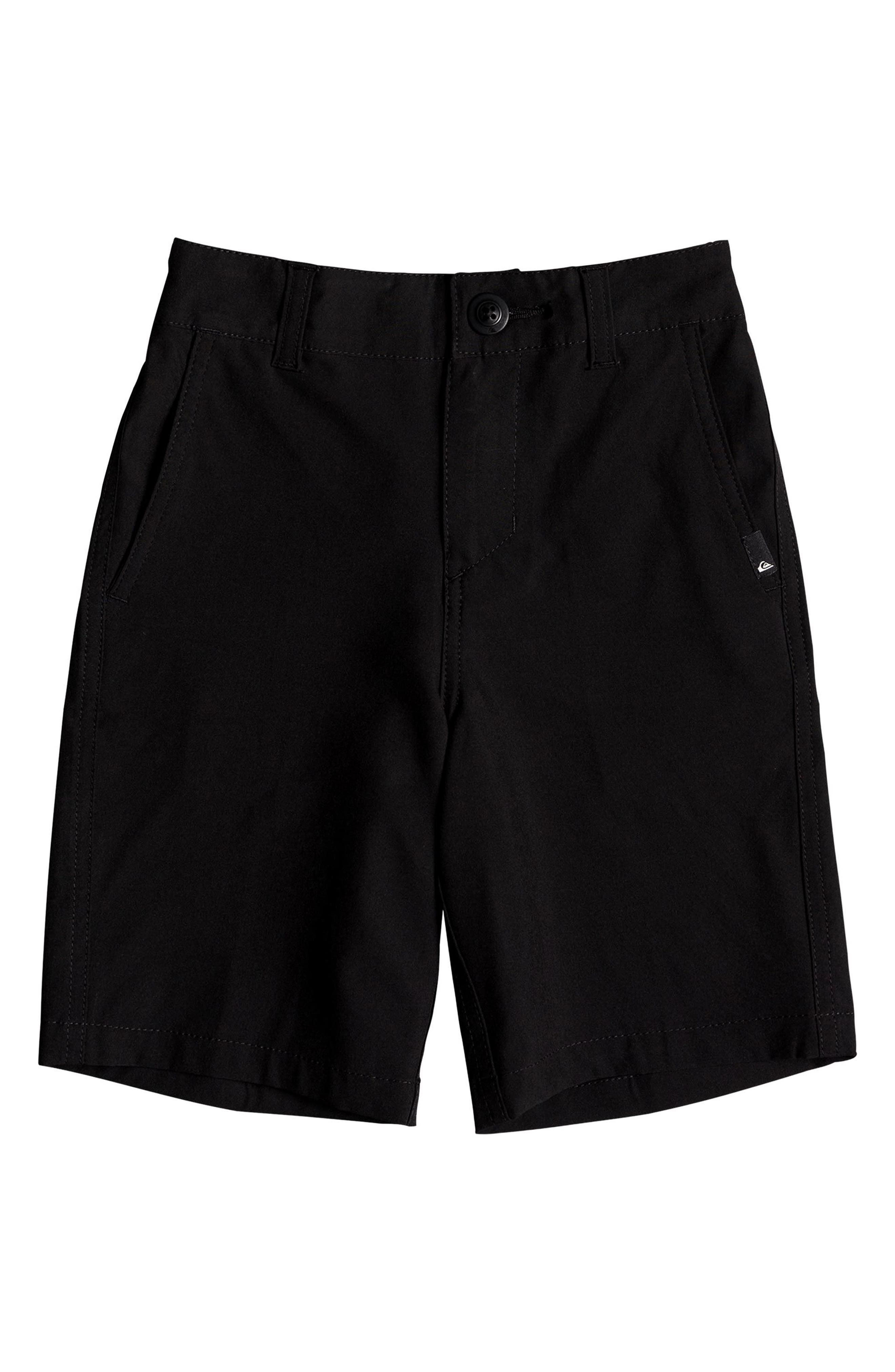 QUIKSILVER,                             Union Amphibian Hybrid Shorts,                             Main thumbnail 1, color,                             BLACK