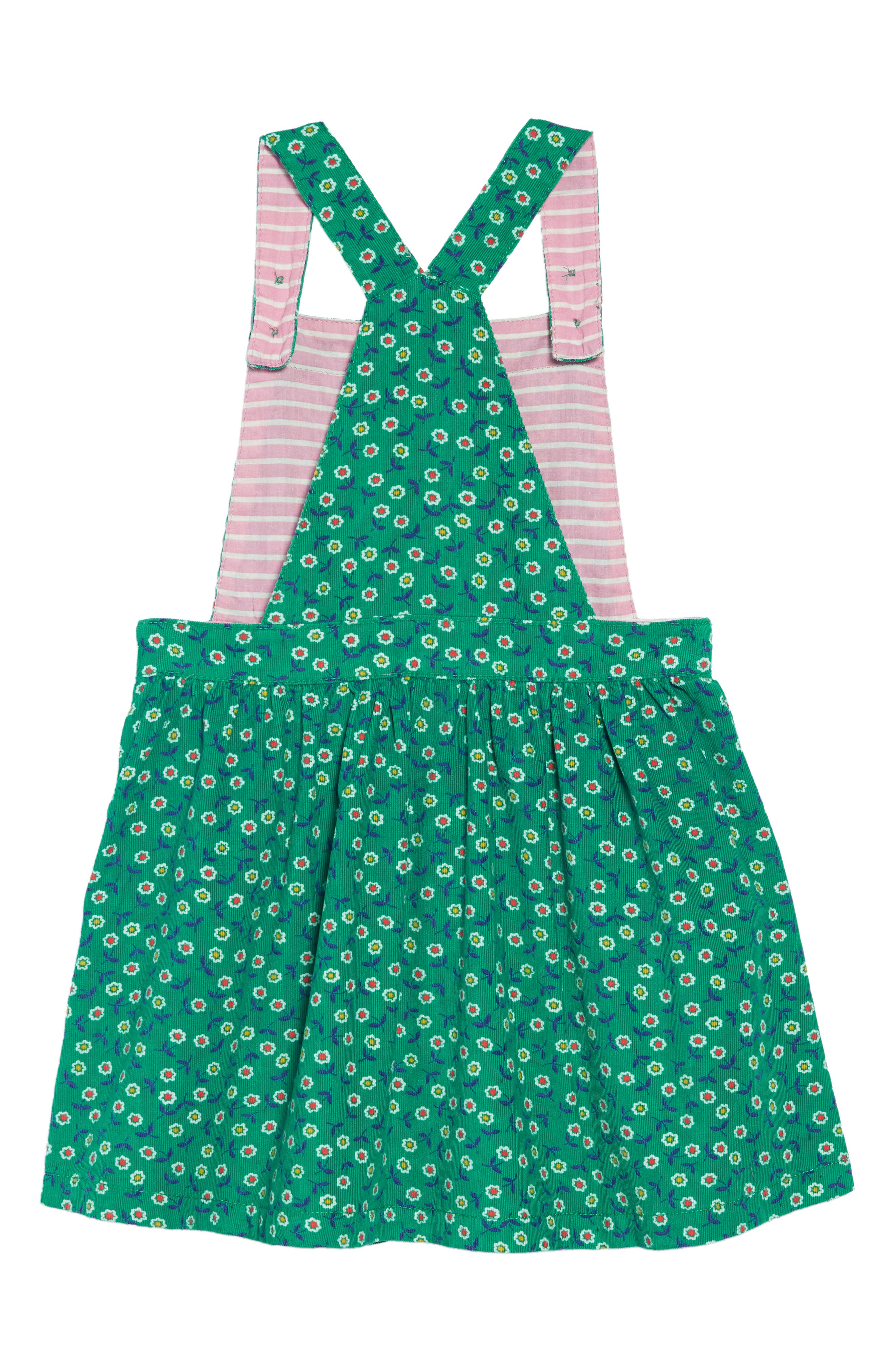 MINI BODEN,                             Dungaree Overall Dress,                             Alternate thumbnail 2, color,                             315