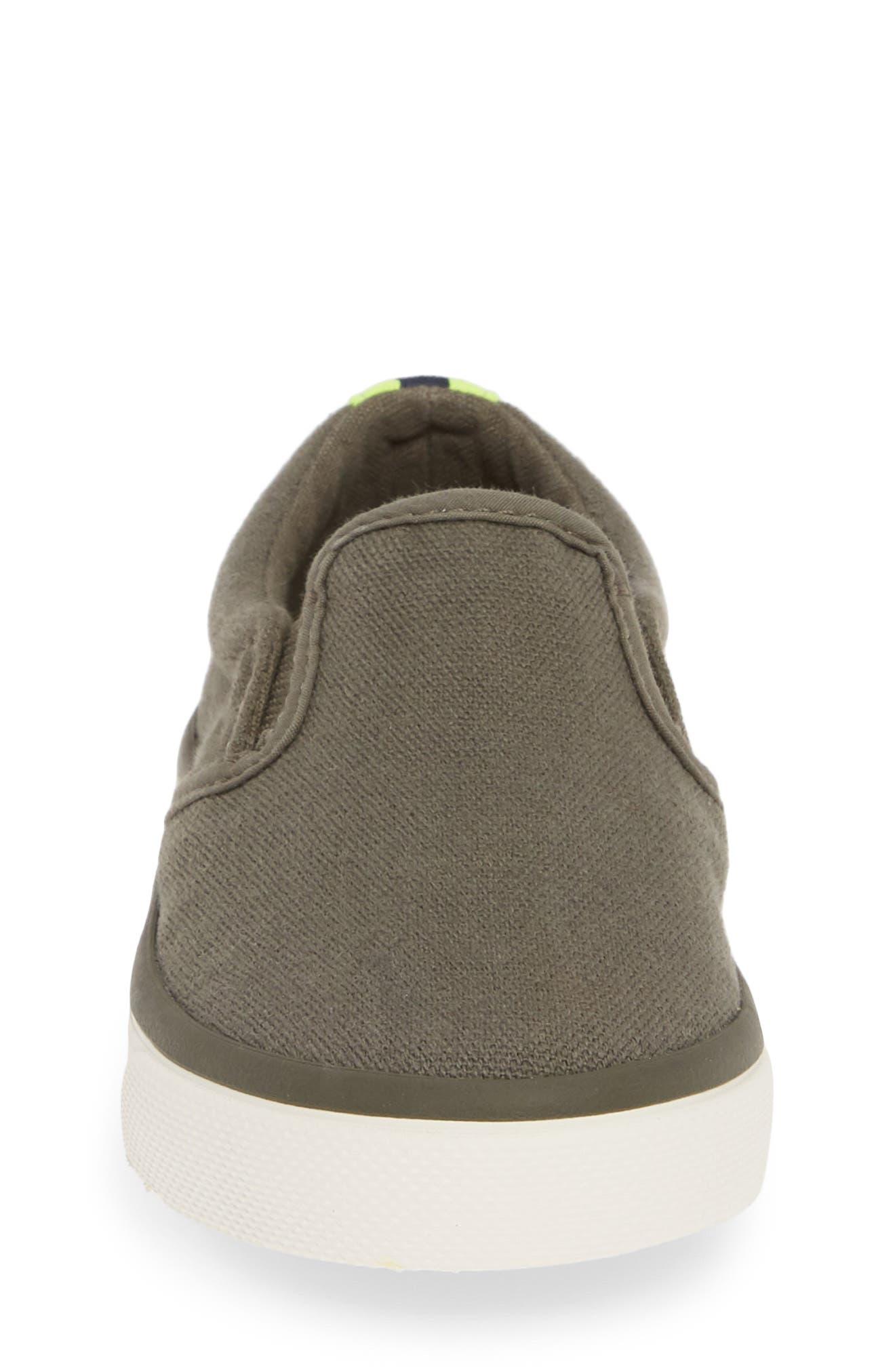 MINI BODEN,                             Slip-On Sneaker,                             Alternate thumbnail 4, color,                             ARMY GREEN