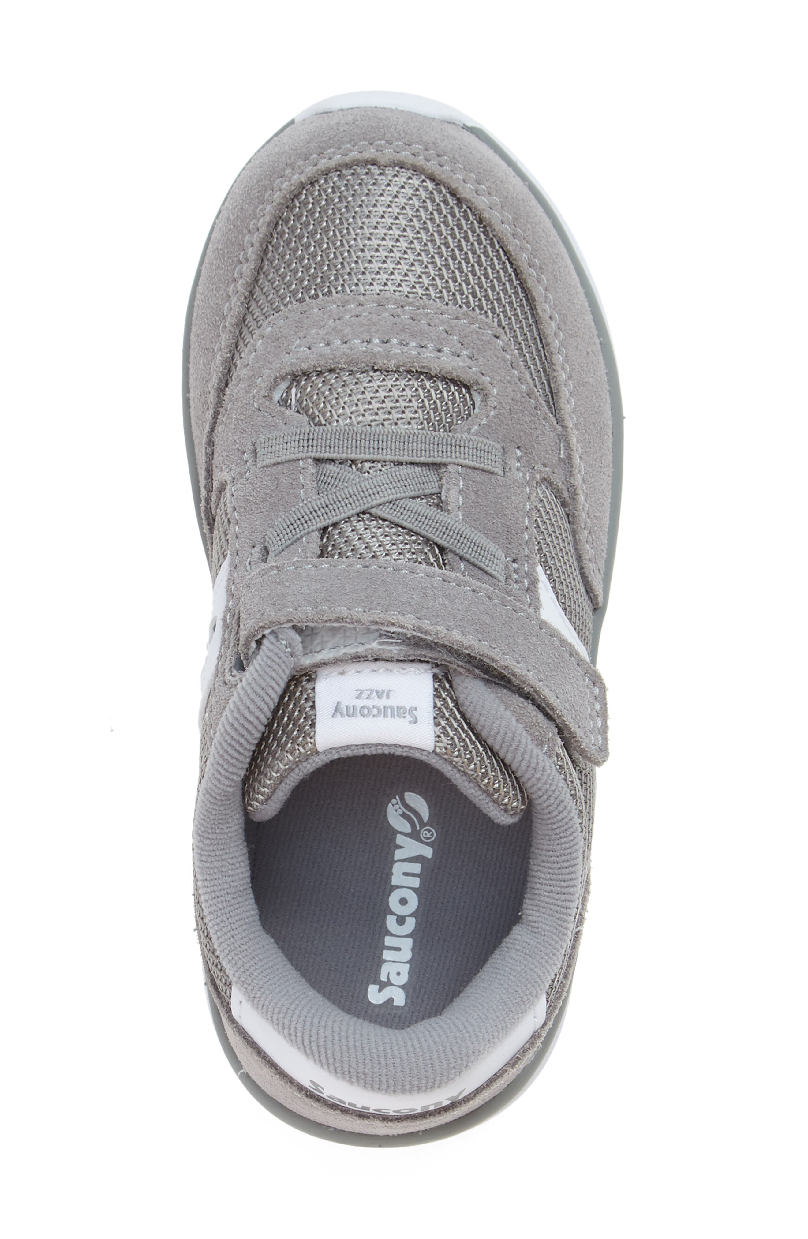 SAUCONY,                             Jazz Lite Sneaker,                             Alternate thumbnail 3, color,                             GREY/ WHITE