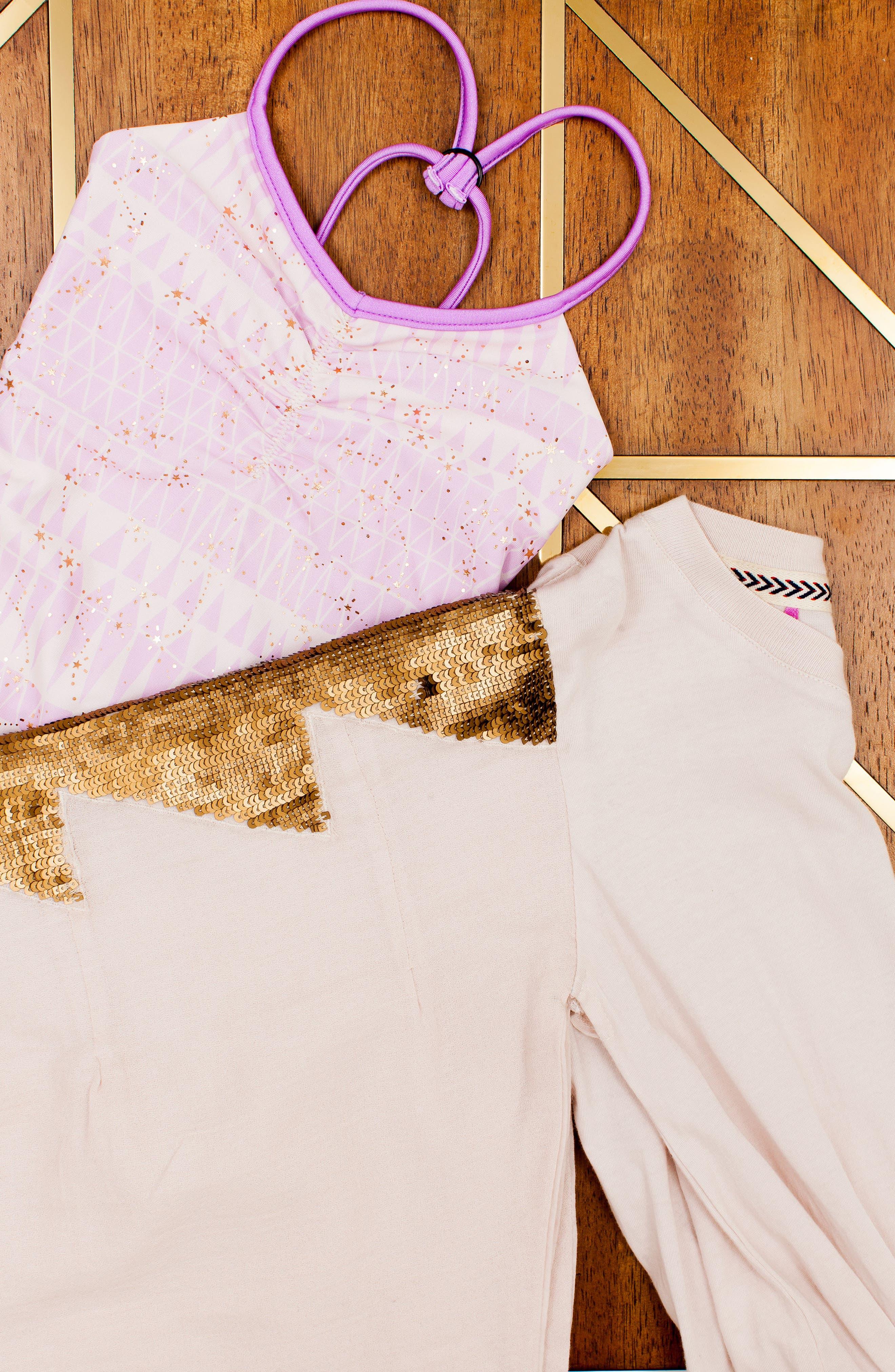 BOWIE X JAMES,                             Catalinakini One-Piece Reversible Swimsuit,                             Alternate thumbnail 6, color,                             LAVENDER