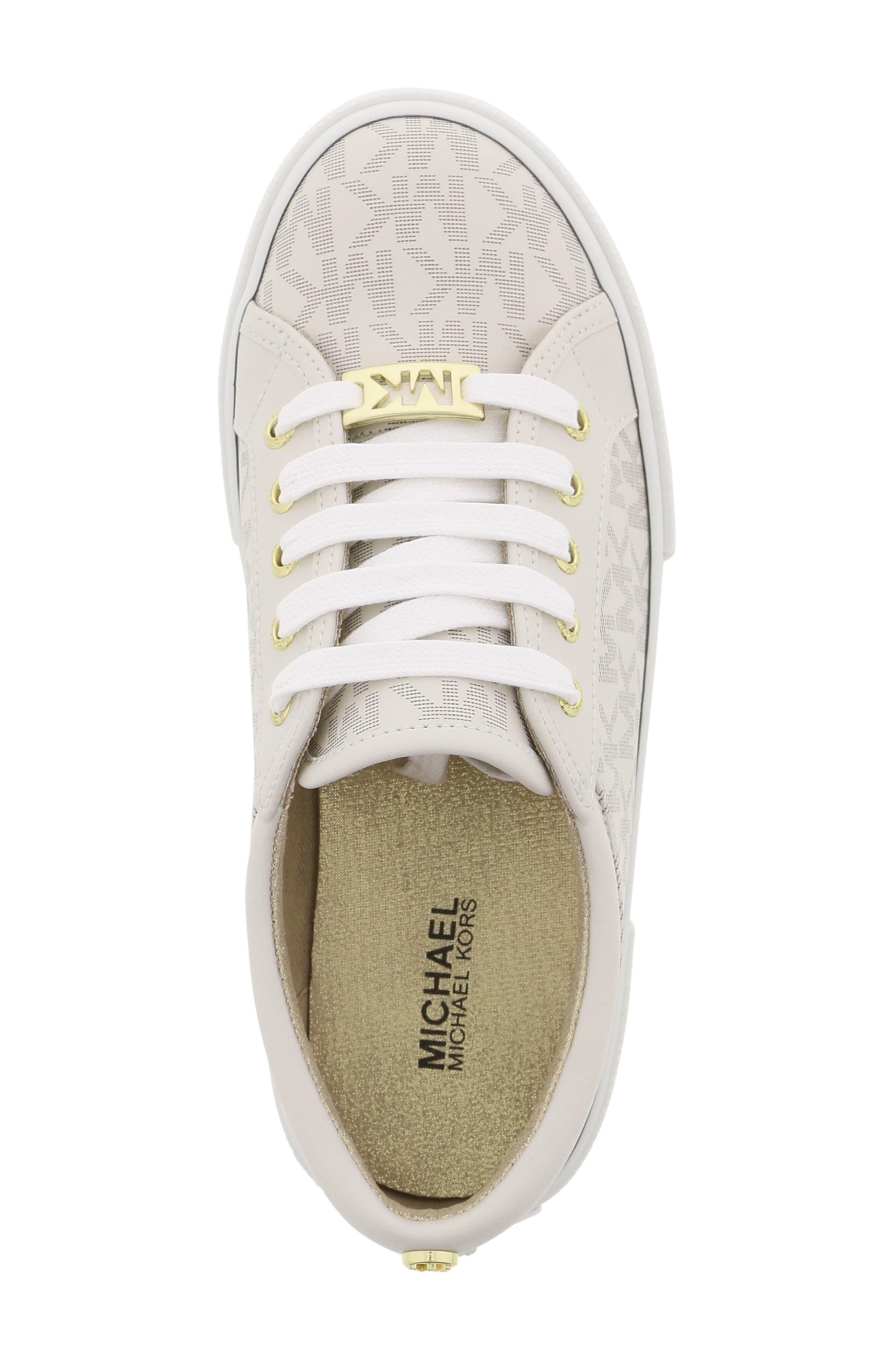 MICHAEL MICHAEL KORS,                             Ima Rebel Sneaker,                             Alternate thumbnail 5, color,                             VANILLA