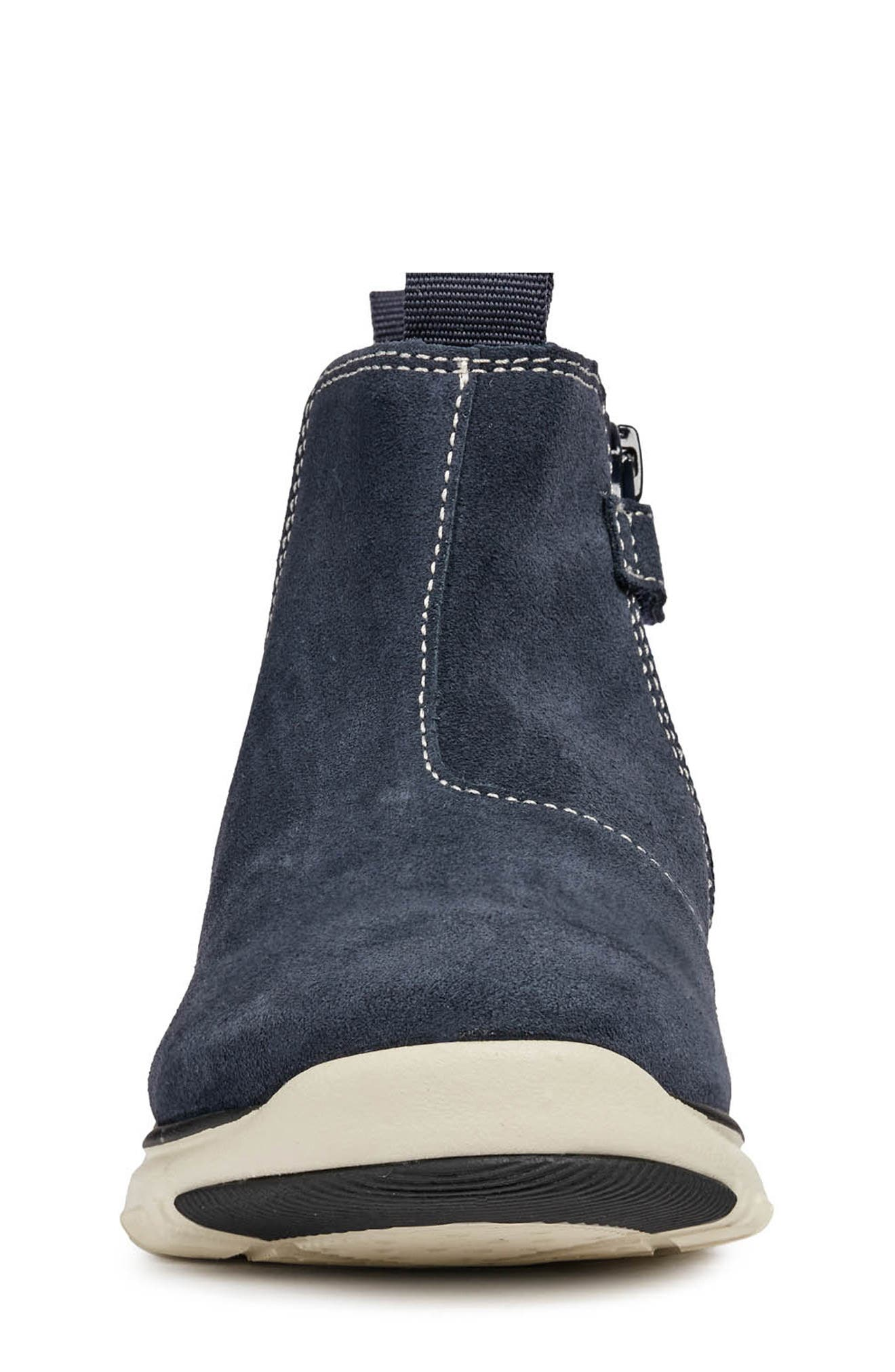 GEOX,                             Xunday Boot,                             Alternate thumbnail 4, color,                             NAVY