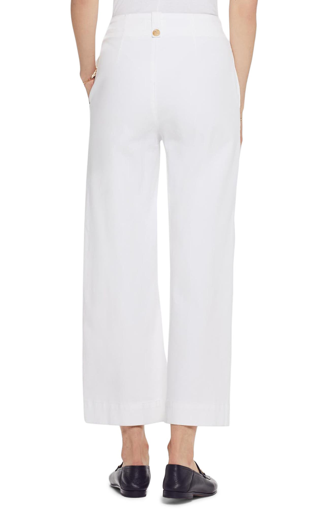 MOTHER, The Greaser Crop Wide Leg Jeans, Alternate thumbnail 2, color, GLASS SLIPPER