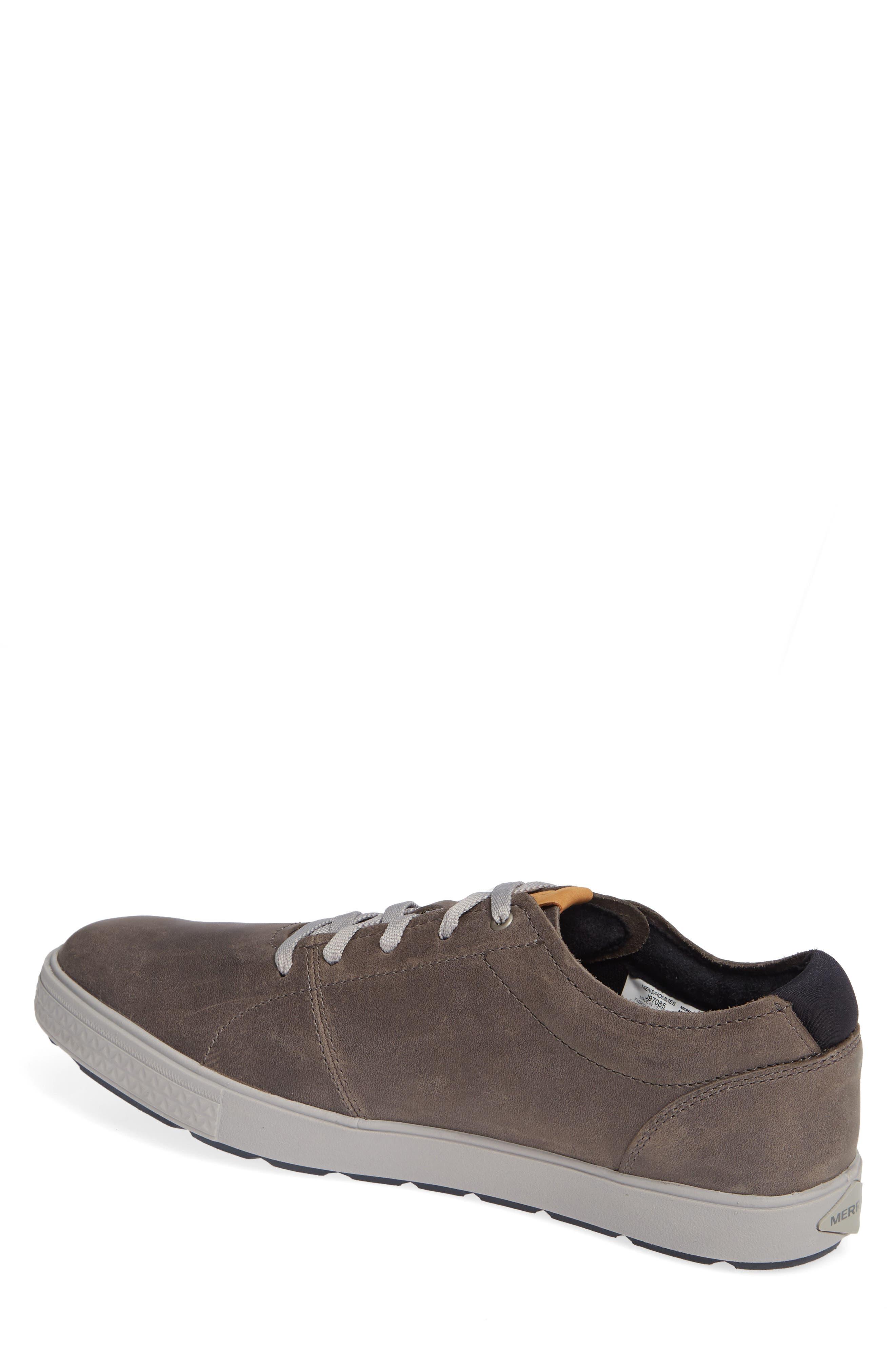 MERRELL, Barkley Sneaker, Alternate thumbnail 2, color, CASTLE ROCK