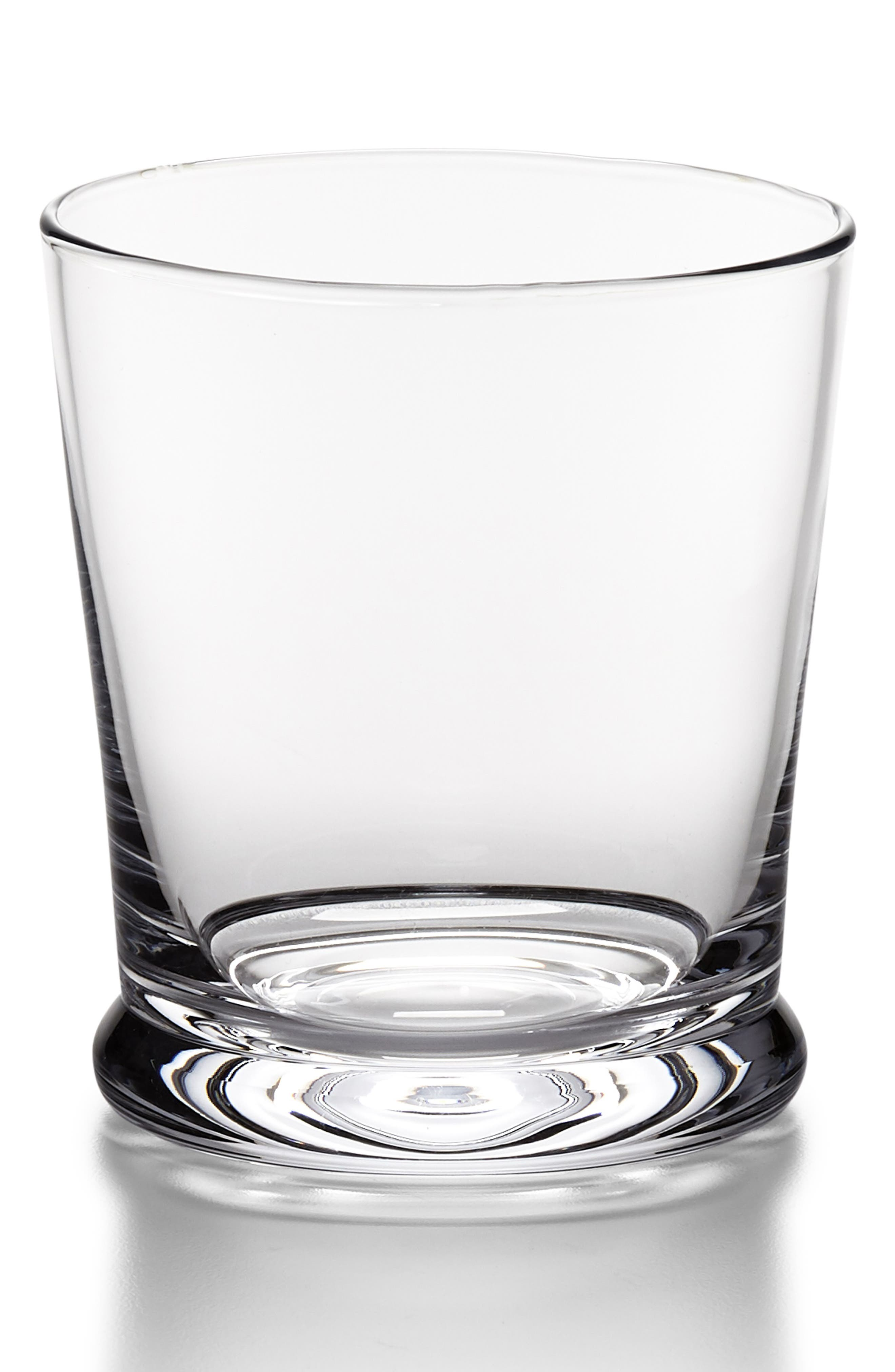 RALPH LAUREN Ethan Double Old Fashioned Glass, Main, color, CLEAR