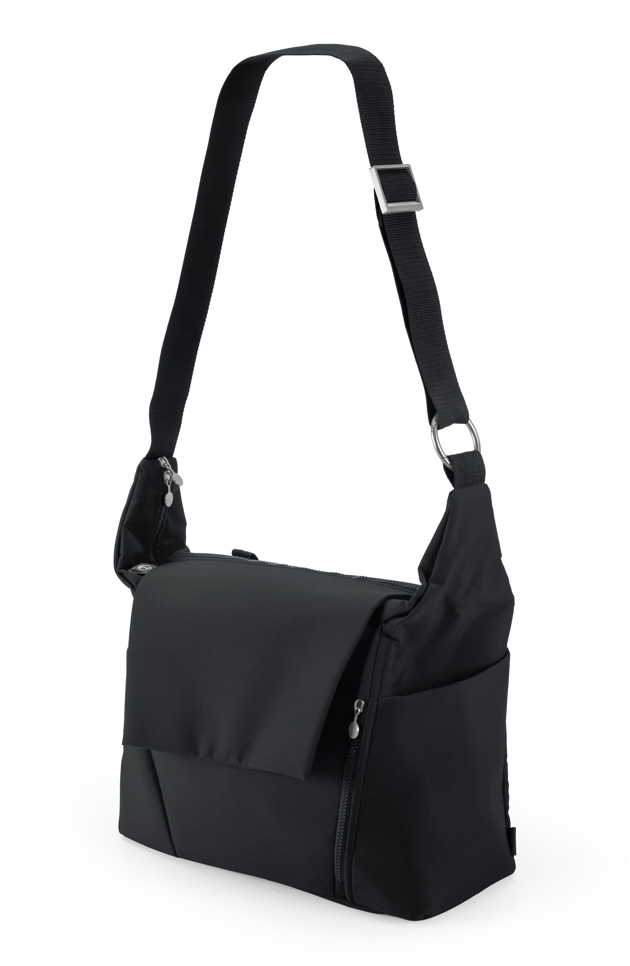 STOKKE, Diaper Bag, Alternate thumbnail 2, color, BLACK