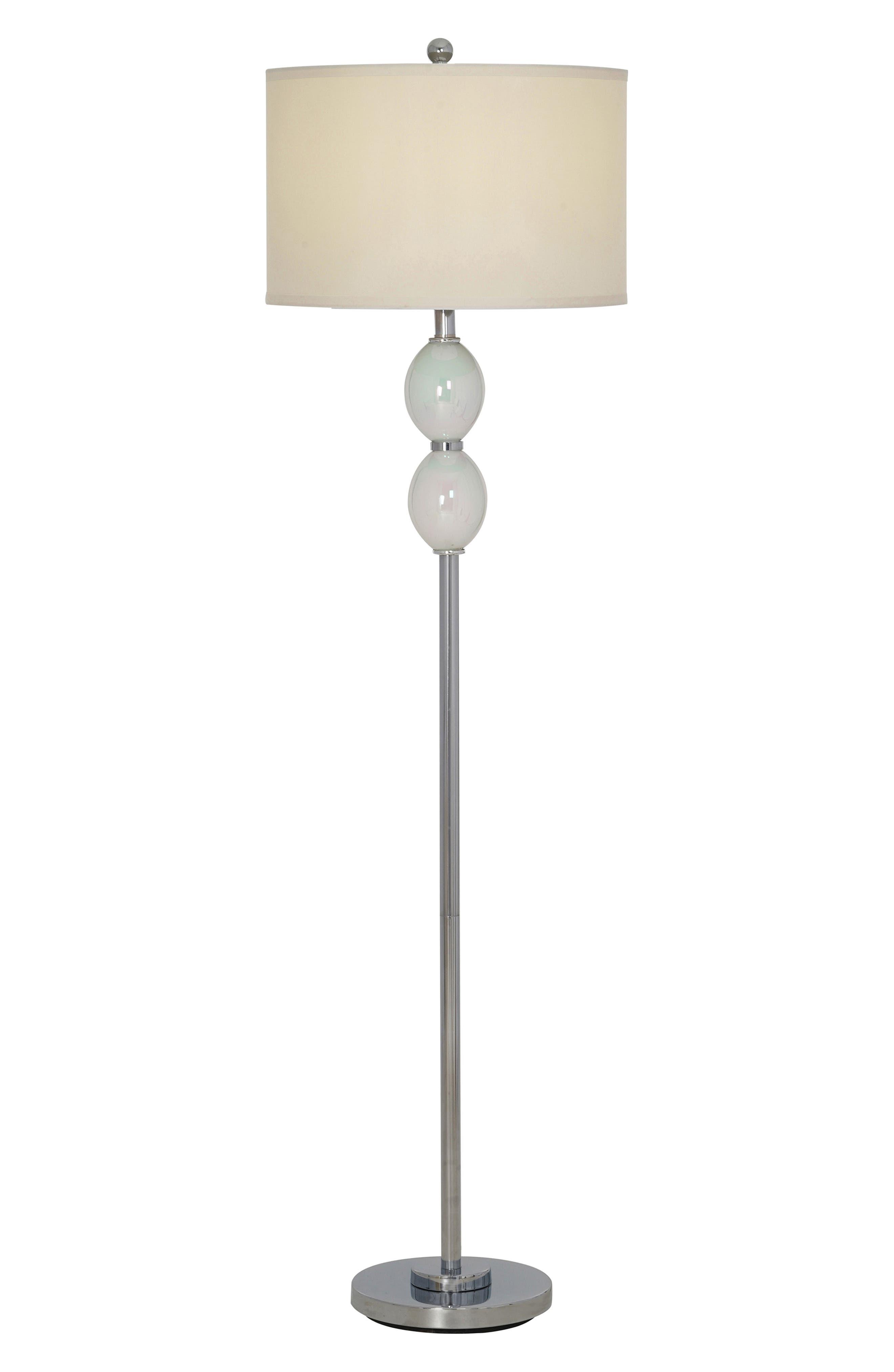 Jalexander Lighting Lola Floor Lamp Size One Size  White