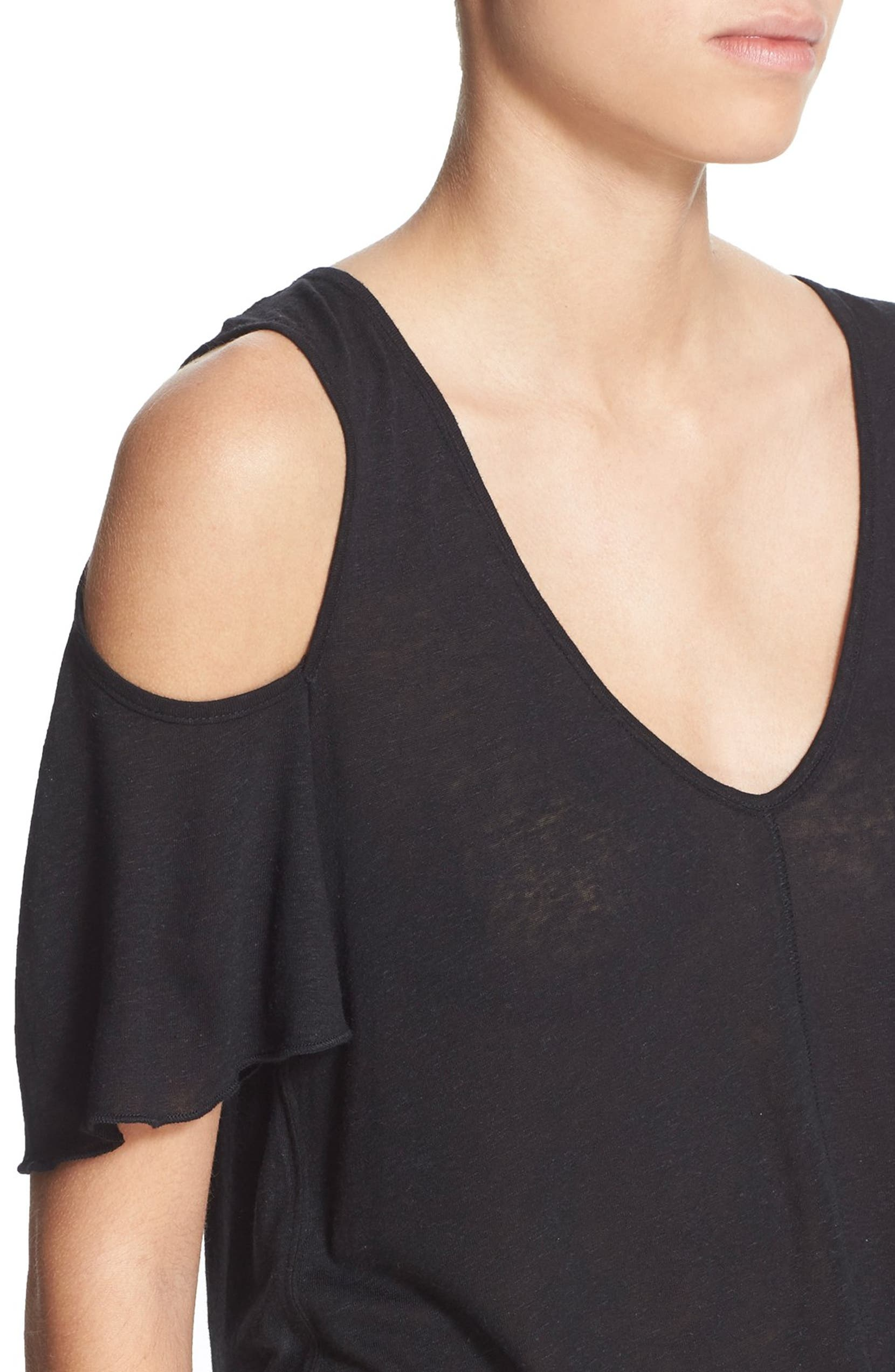 f00059f62a626 Free People Bittersweet Cold Shoulder Top