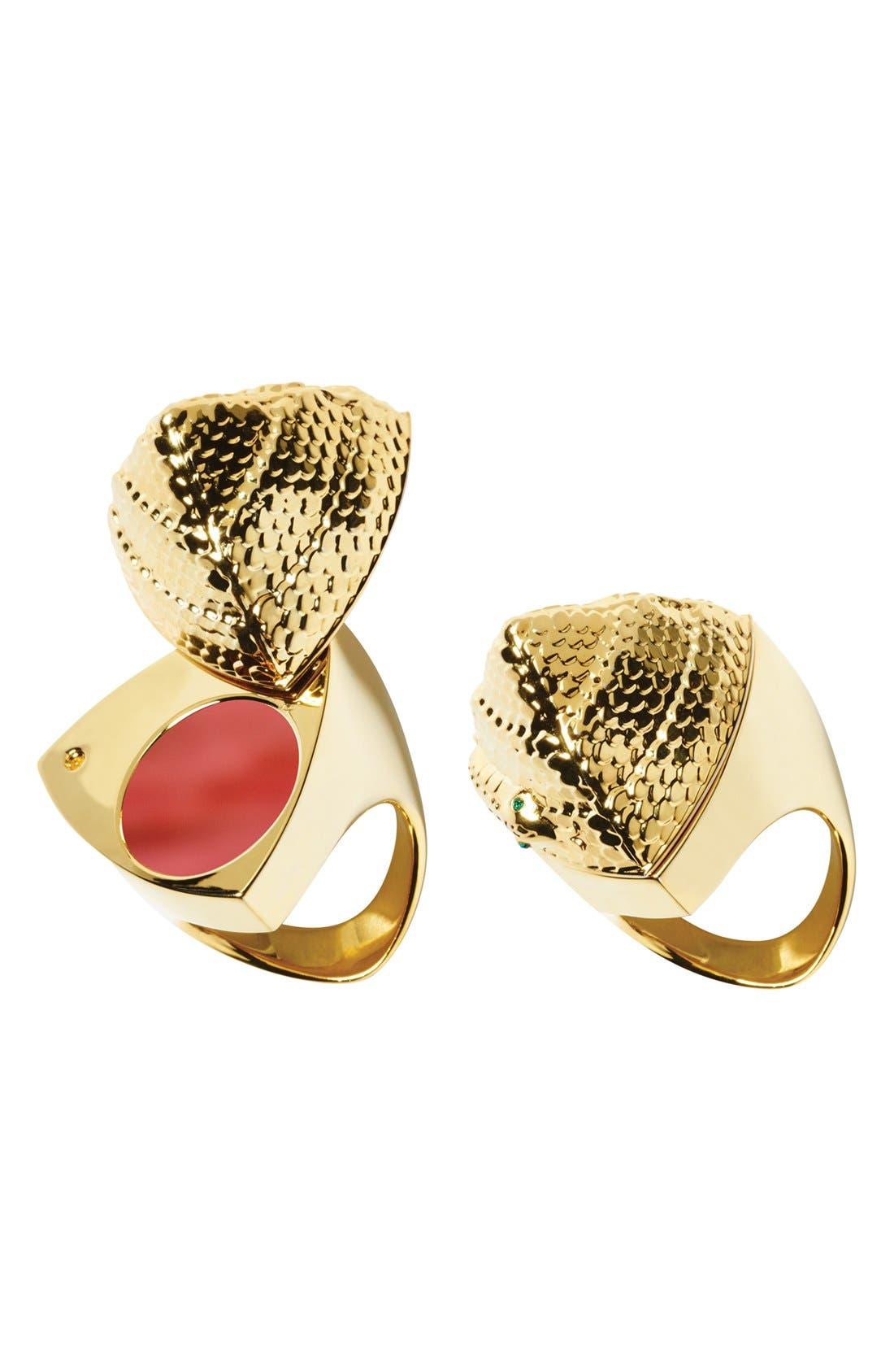 SMASHBOX Santigold for Smashbox 'Be Legendary' Lipstick & Snake Ring, Main, color, 650
