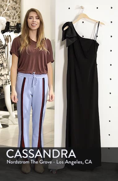 One-Shoulder A-Line Gown, sales video thumbnail