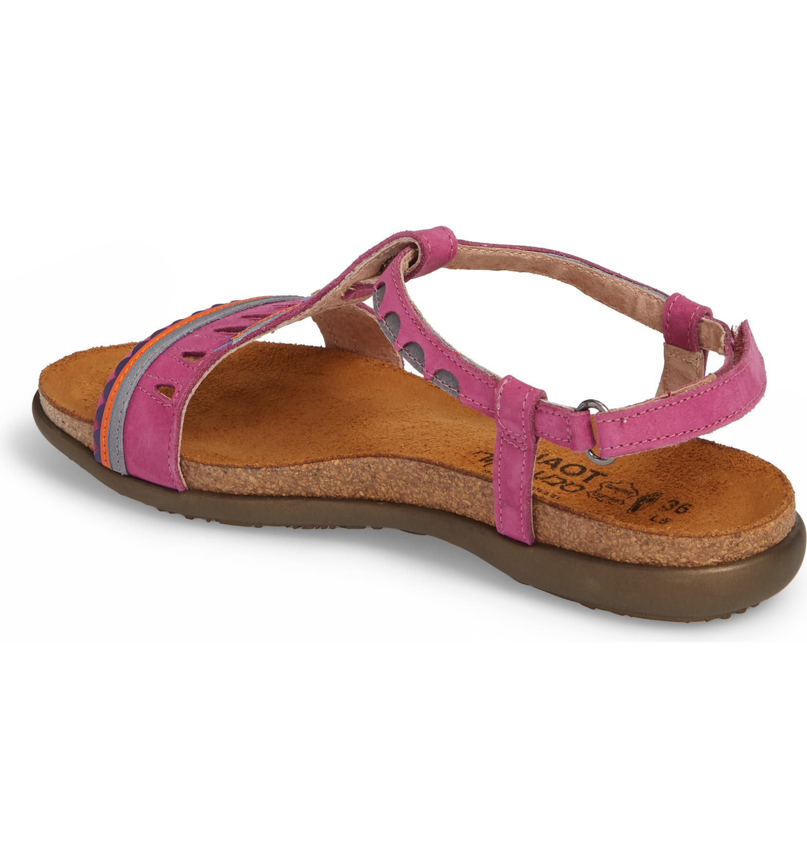 d9fa44aa55bb Naot Odelia Perforated T-Strap Sandal (Women)