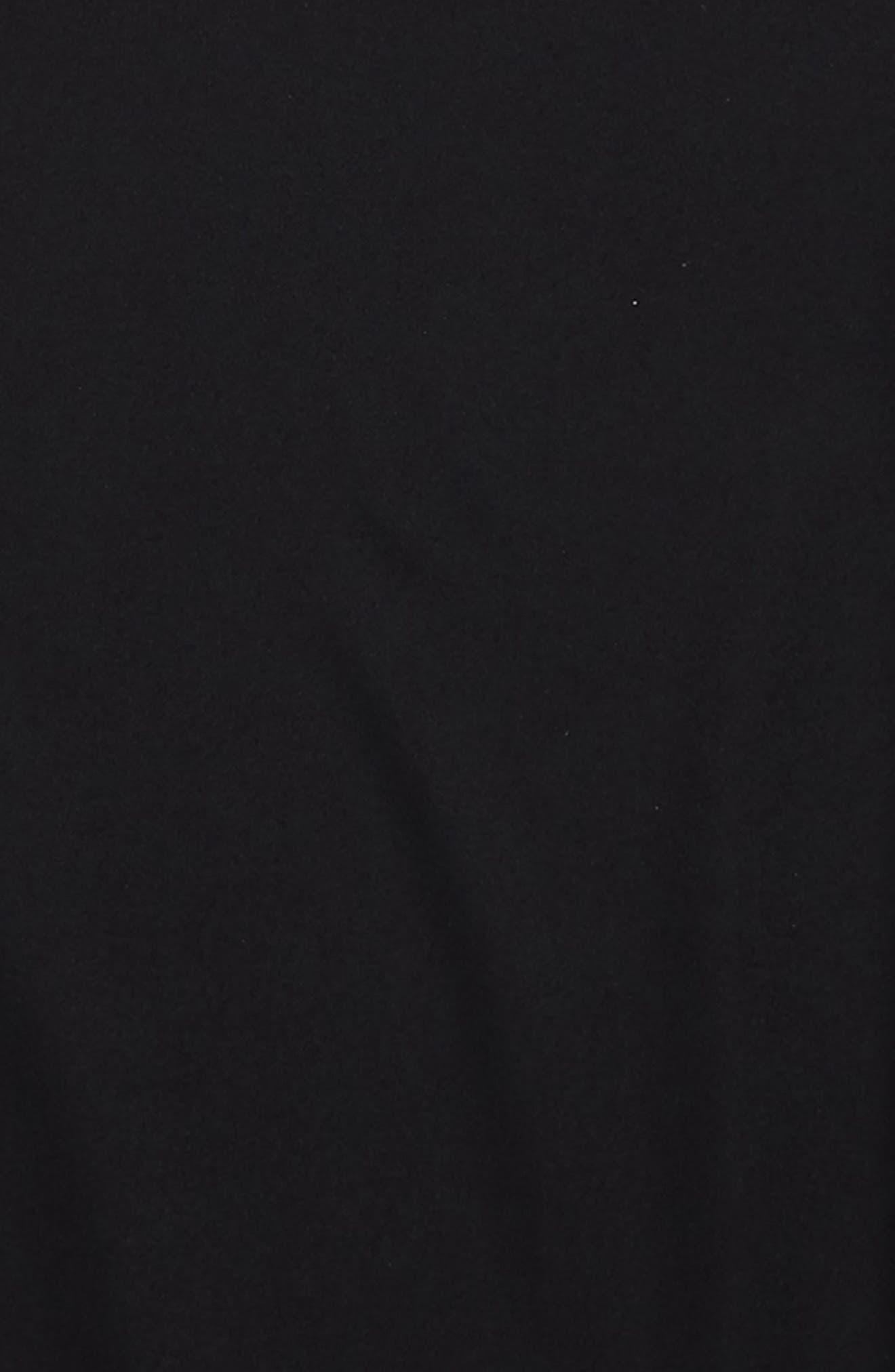 UMBRO, Diamond Logo Tape T-Shirt, Alternate thumbnail 2, color, BLACK/ WHITE