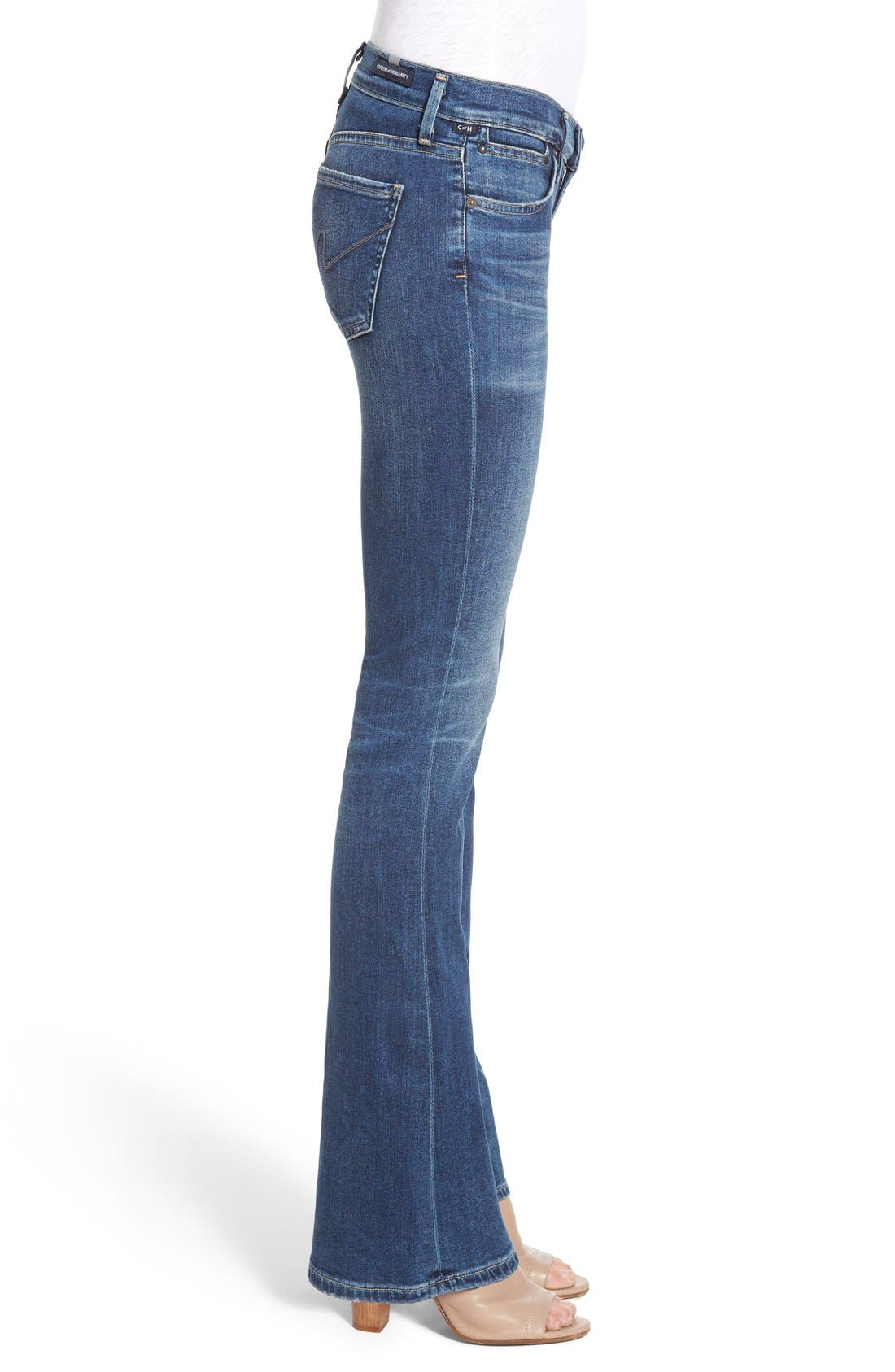 CITIZENS OF HUMANITY, 'Emannuelle' Bootcut Jeans, Alternate thumbnail 4, color, MODERN LOVE