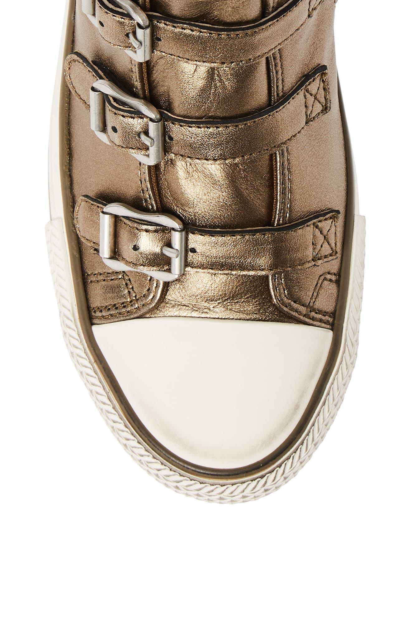 ASH, Virgin Sneaker, Alternate thumbnail 5, color, MOON BRONZE