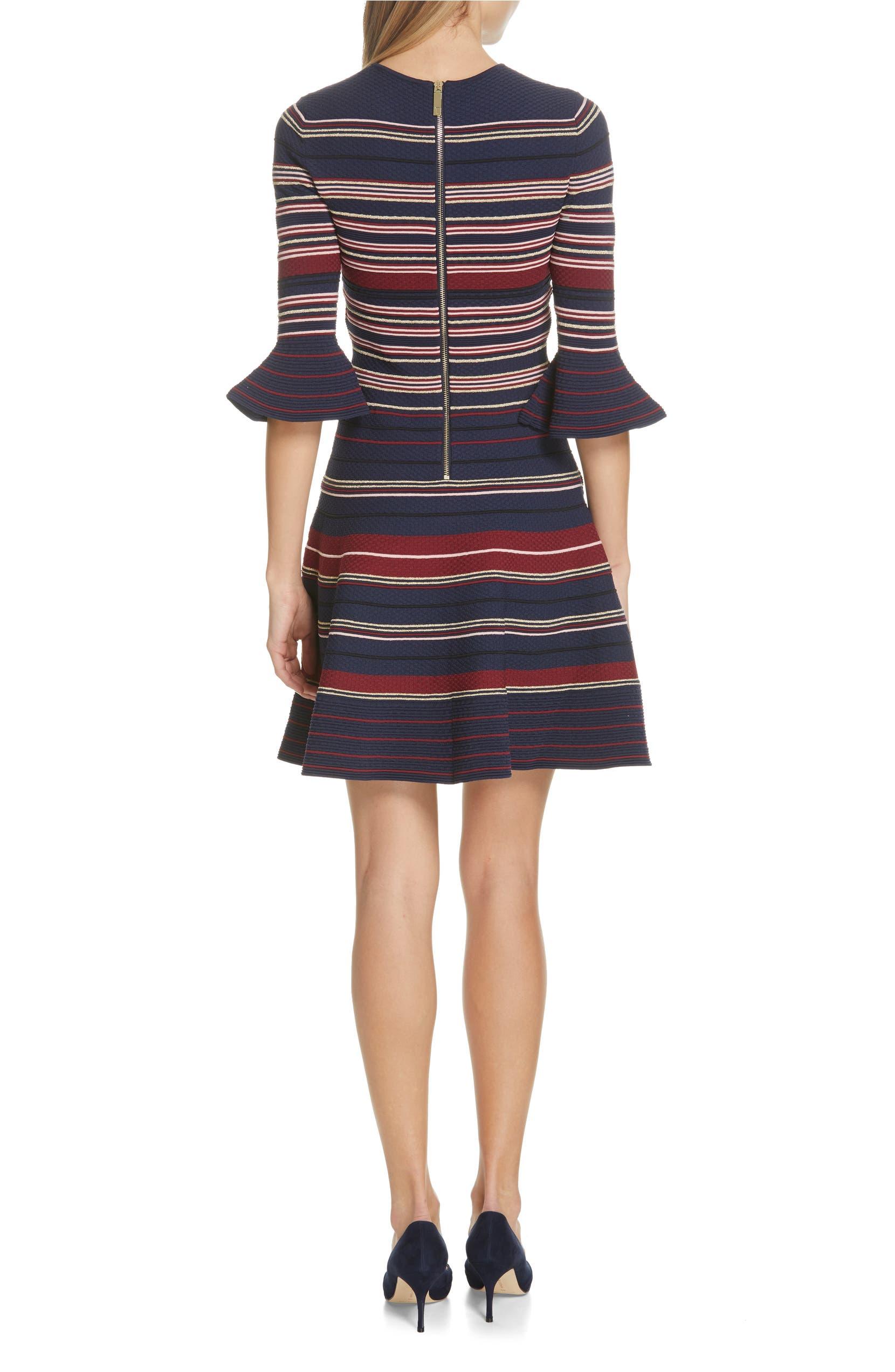 fdcb8feec Ted Baker London Tayiny Stripe Ottoman Dress