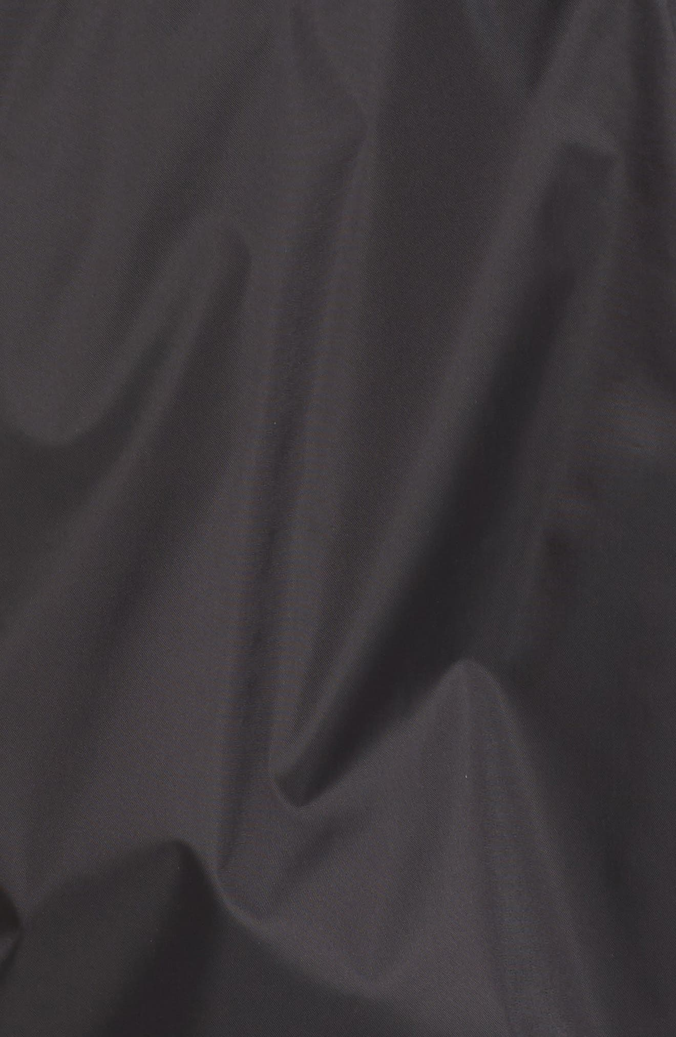 THE NORTH FACE, Precita Rain Jacket, Alternate thumbnail 7, color, TNF BLACK