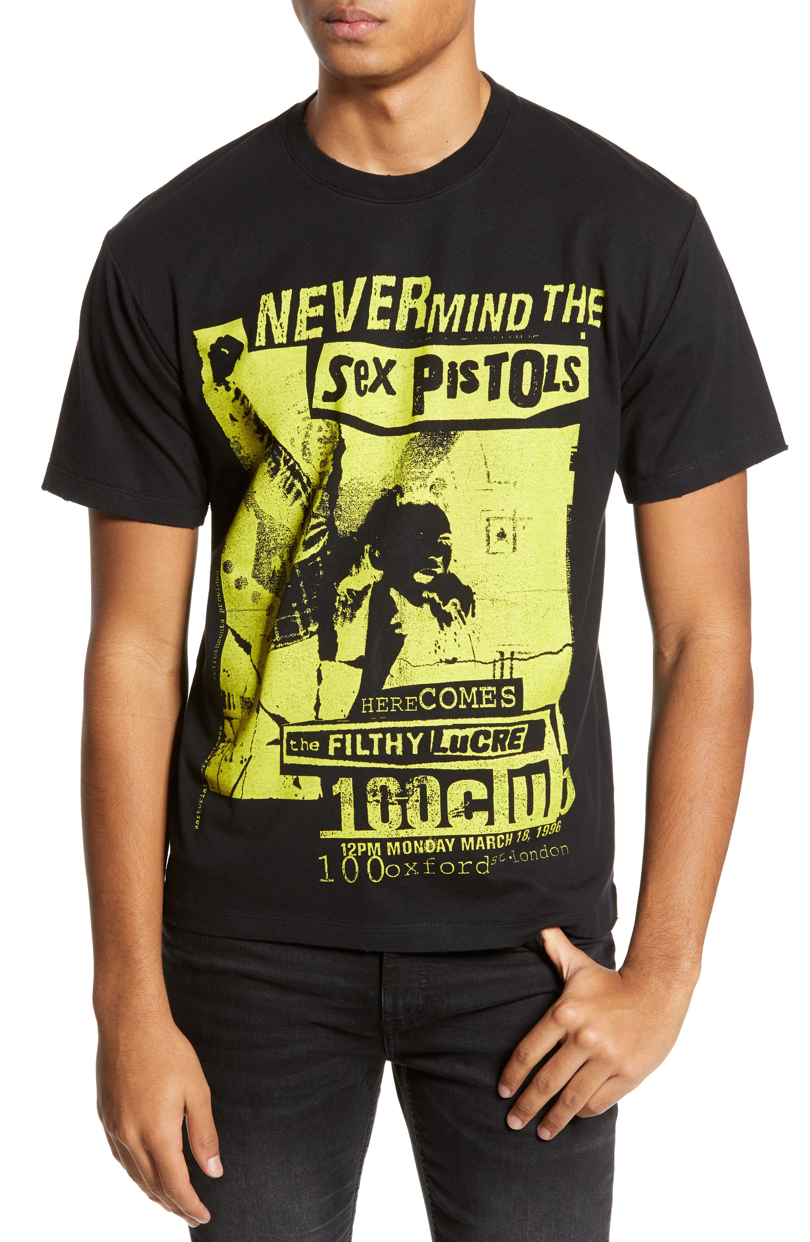 THE KOOPLES Sex Pistols Graphic T-Shirt, Main, color, 001
