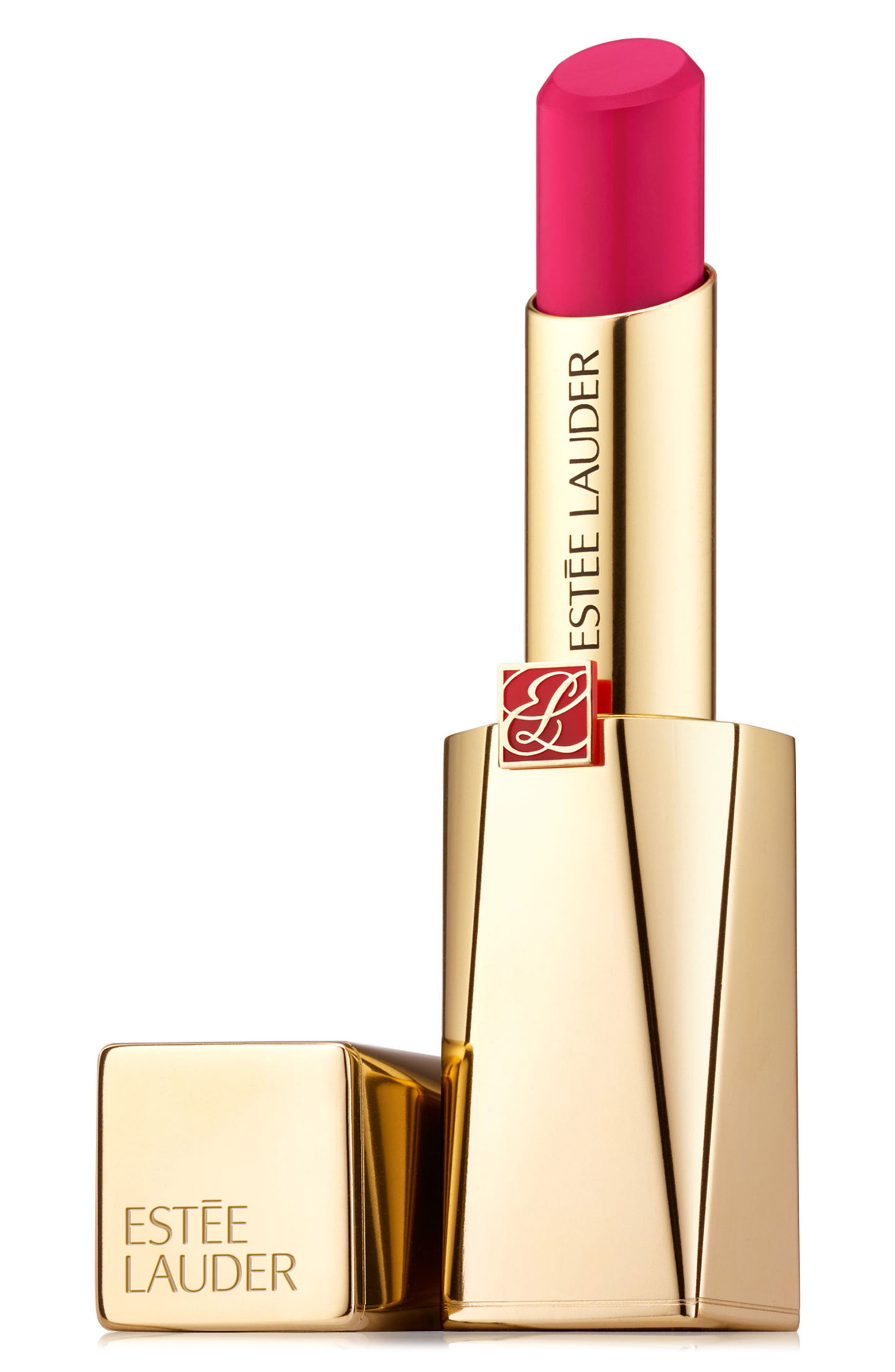 ESTÉE LAUDER, Pure Color Desire Rouge Excess Crème Lipstick, Main thumbnail 1, color, DISTRACT-CREME