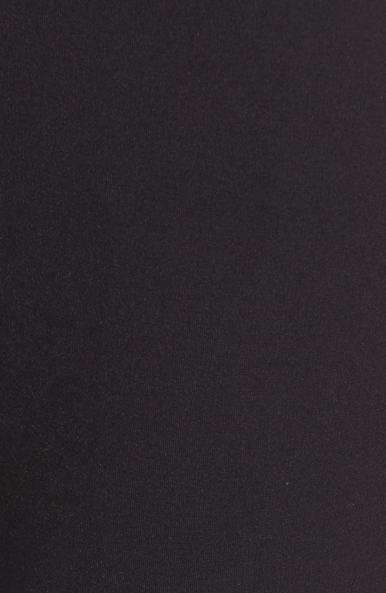 NYDJ, Stretch Knit Trousers, Alternate thumbnail 6, color, BLACK