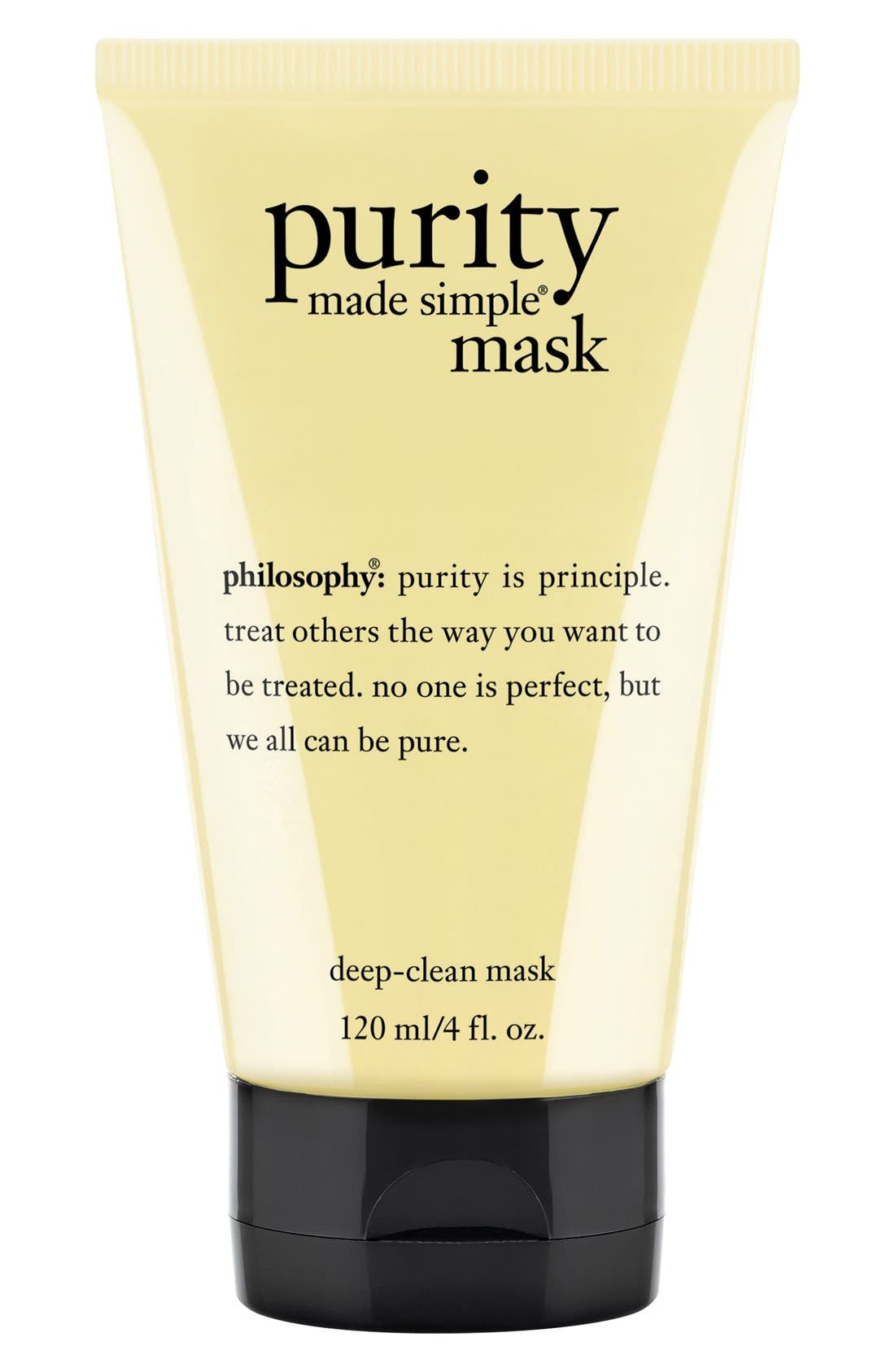 PHILOSOPHY, 'purity made simple' deep-clean mask, Main thumbnail 1, color, NO COLOR