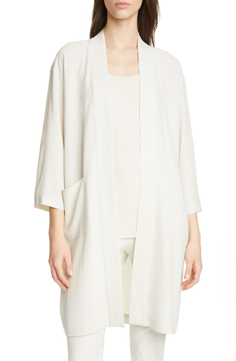 Eileen Fisher Jackets SILK JACKET