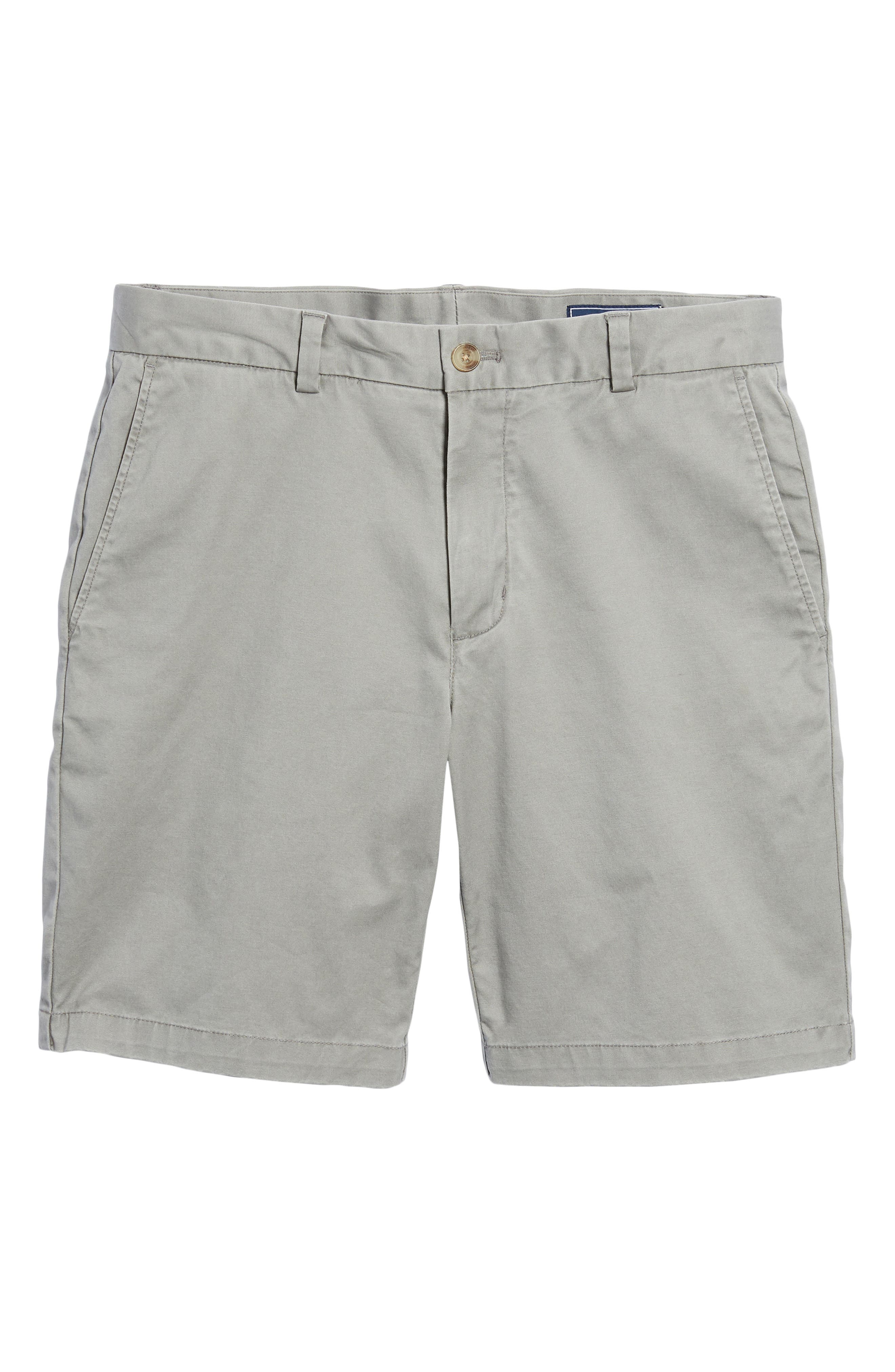 VINEYARD VINES, 9 Inch Stretch Breaker Shorts, Alternate thumbnail 6, color, ANCHOR GREY