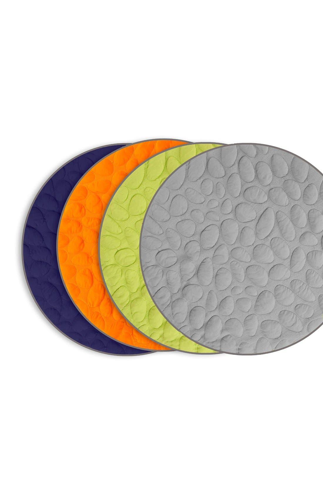 NOOK SLEEP SYSTEMS, 'Pebble LilyPad' Play Mat, Alternate thumbnail 5, color, LAWN