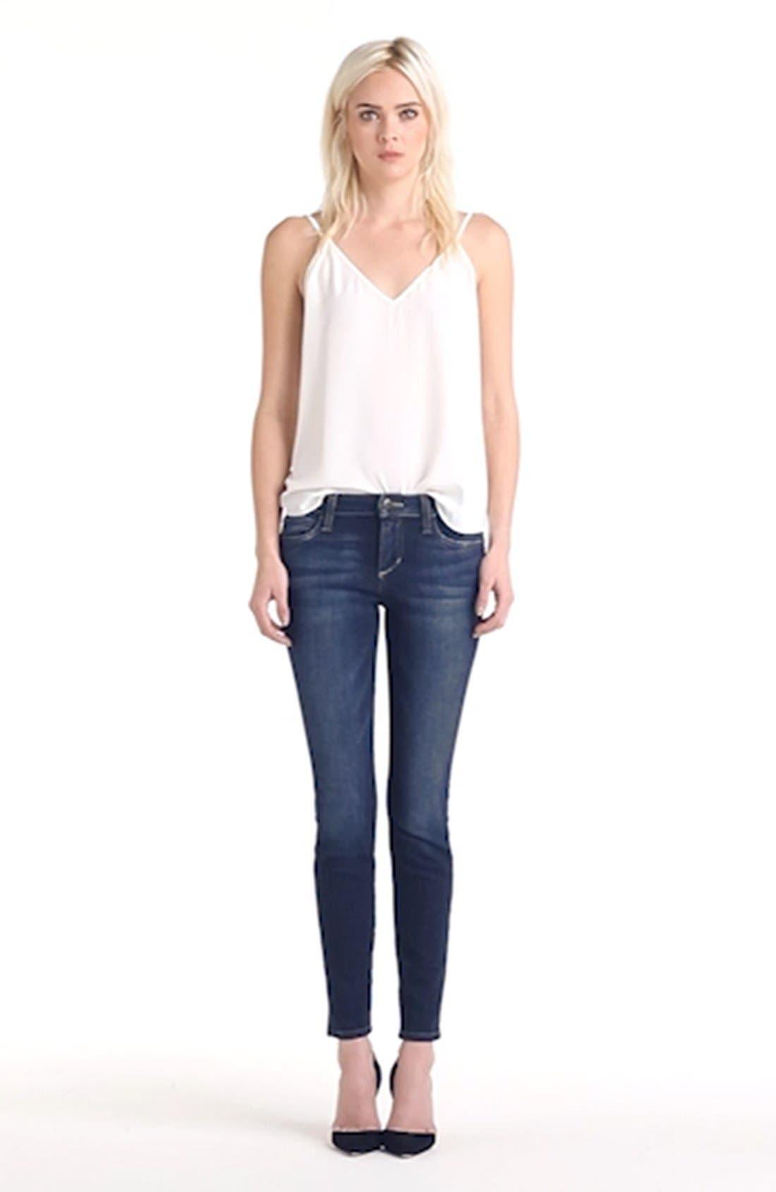 JOE'S, Ankle Skinny Jeans, Alternate thumbnail 2, color, 410