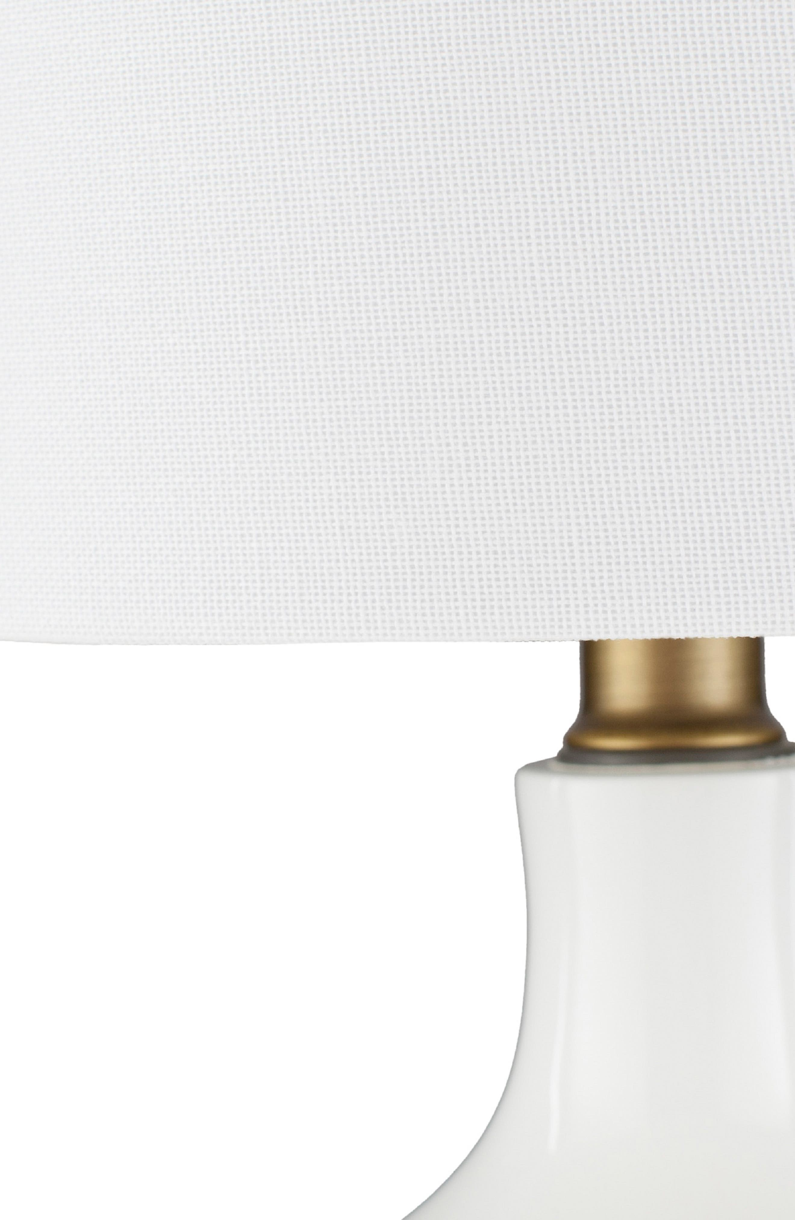 SURYA HOME, Laney Table Lamp, Alternate thumbnail 4, color, WHITE