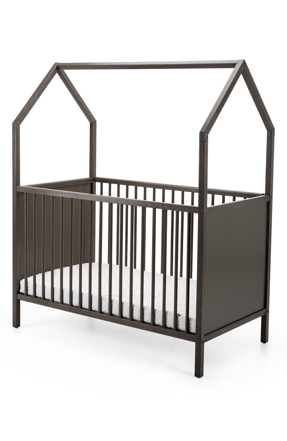 STOKKE 'Home<sup>™</sup>' Bed, Main, color, HAZY GREY