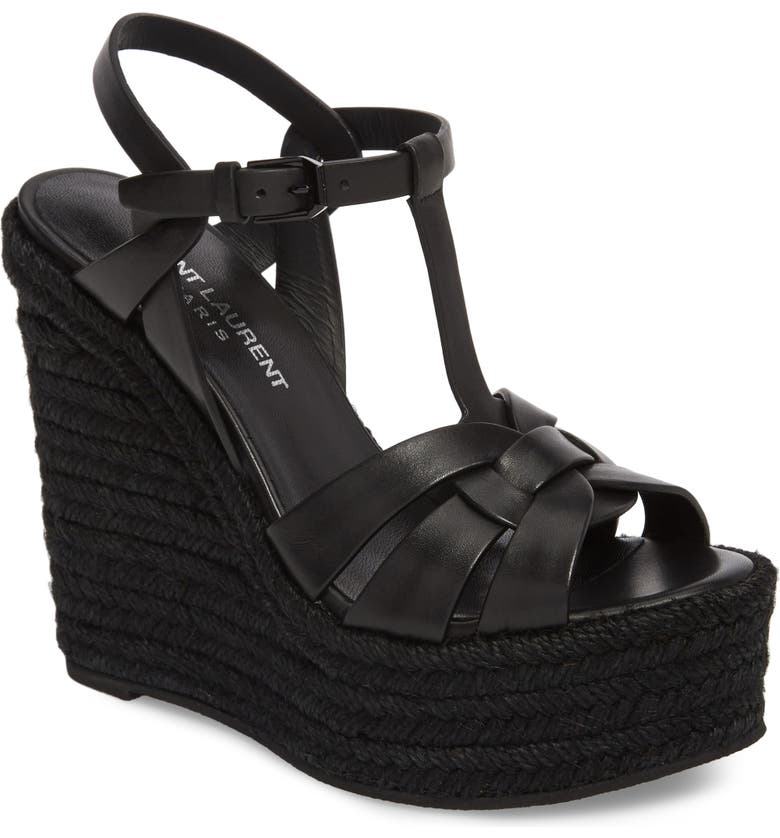 be65f117bf6 Saint Laurent Tribute Espadrille Wedge (Women)