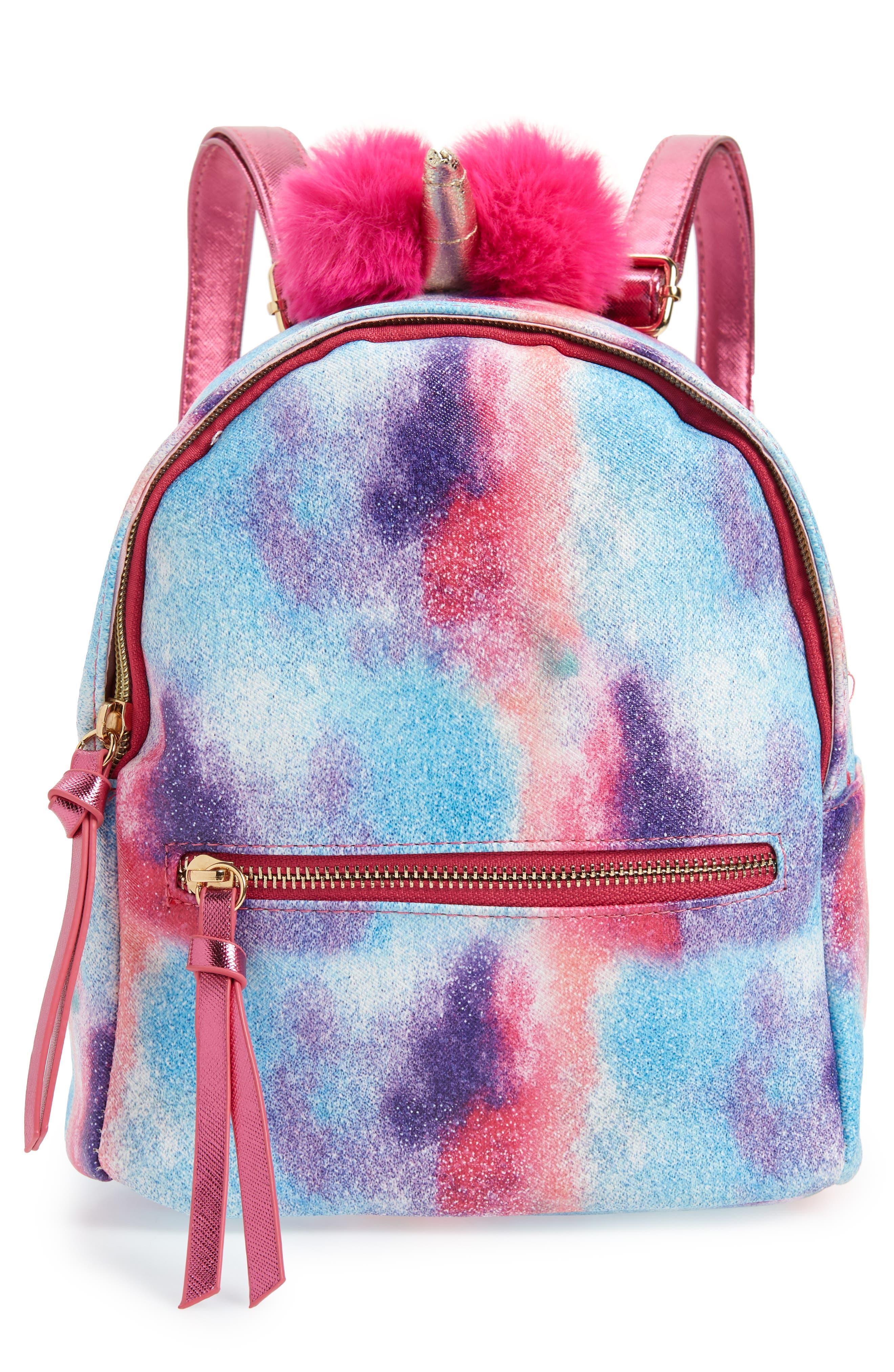 Girls Under One Sky Unicorn Backpack