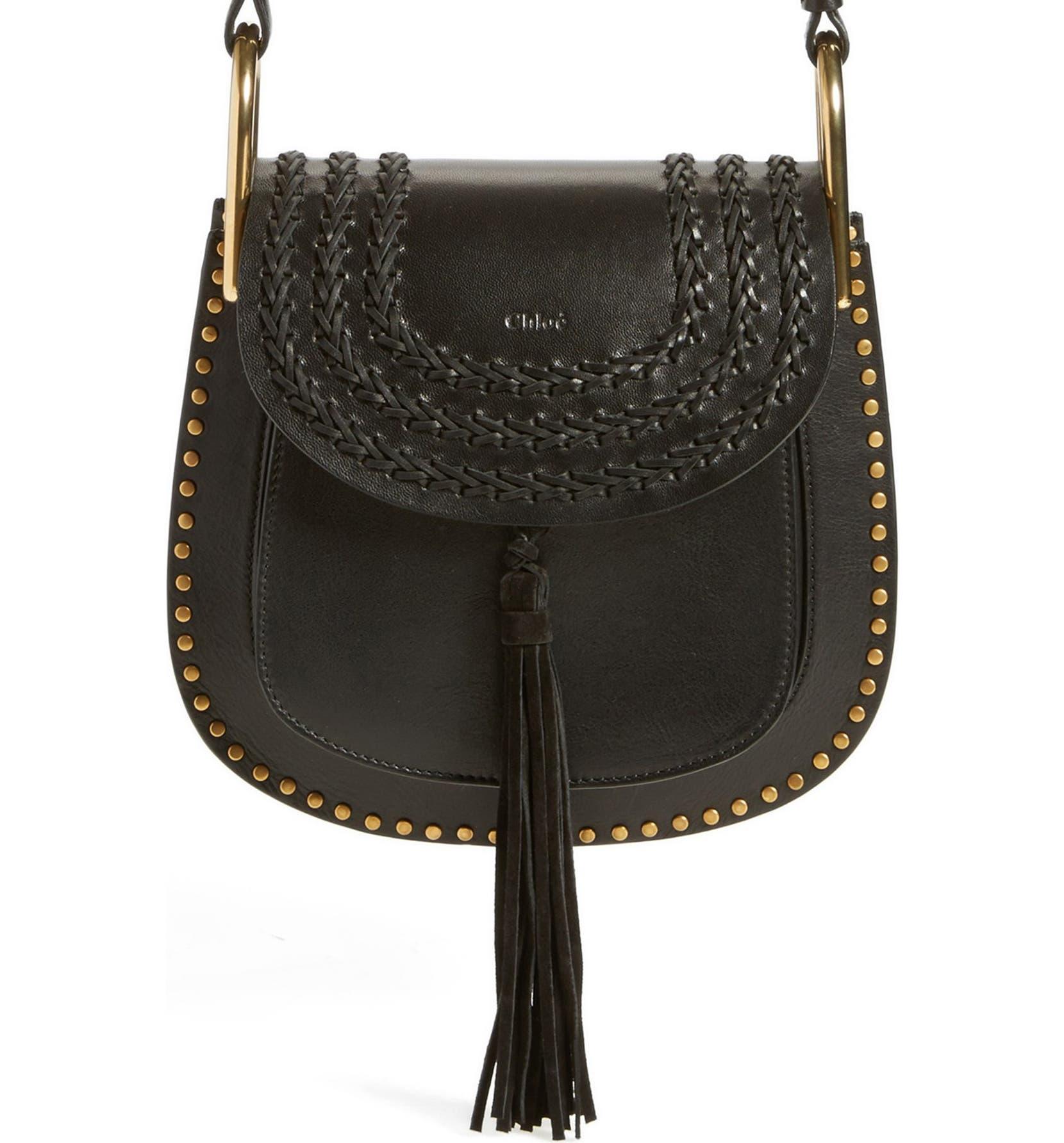 6bcc809f3f5 Chloé  Small Hudson  Studded Calfskin Leather Crossbody Bag