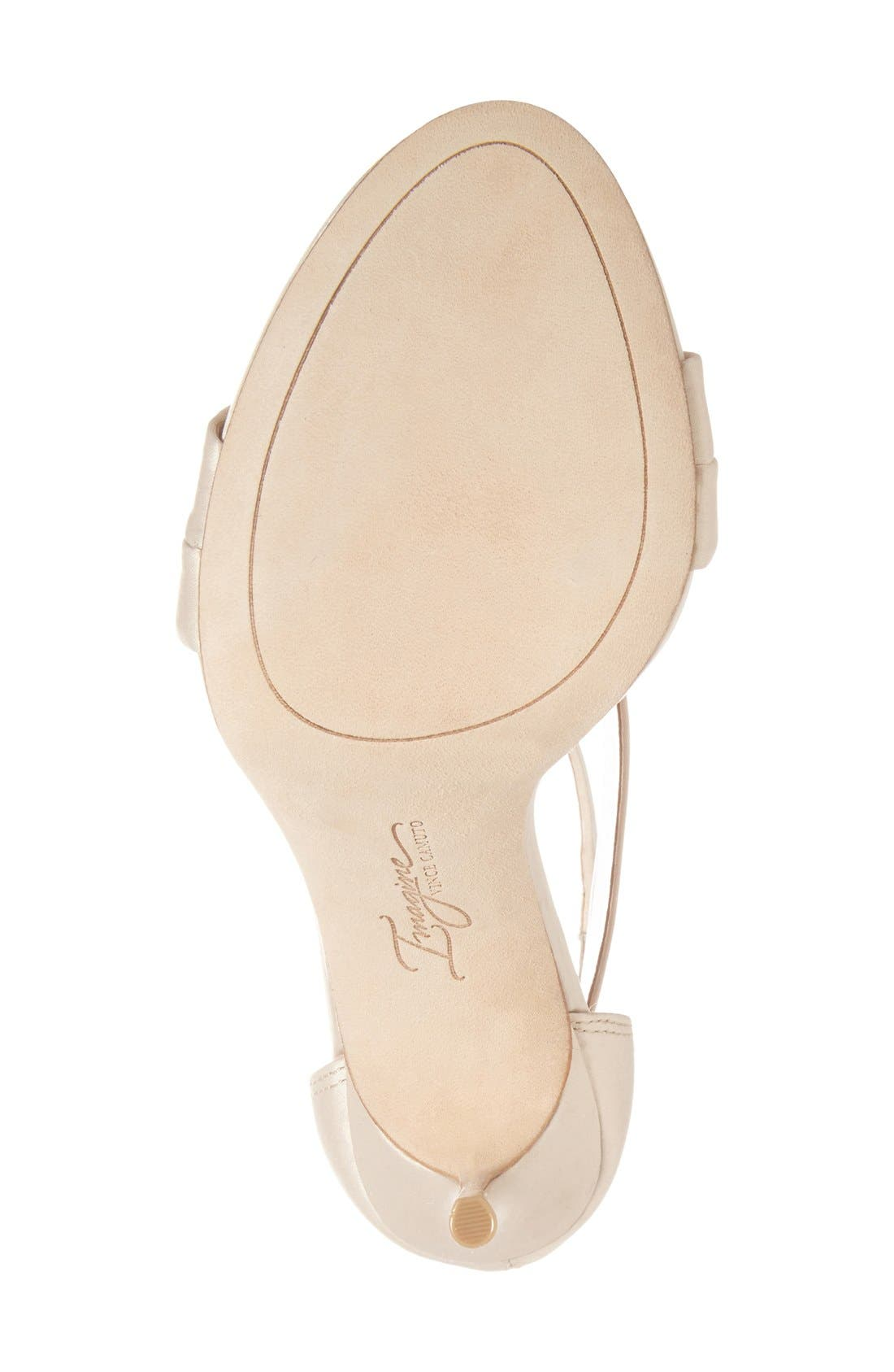 IMAGINE BY VINCE CAMUTO, Imagine Vince Camuto 'Devin' Sandal, Alternate thumbnail 4, color, LIGHT SAND