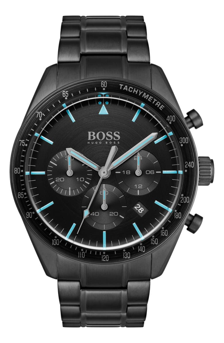 Boss Watches TROPHY CHRONOGRAPH BRACELET WATCH, 44MM