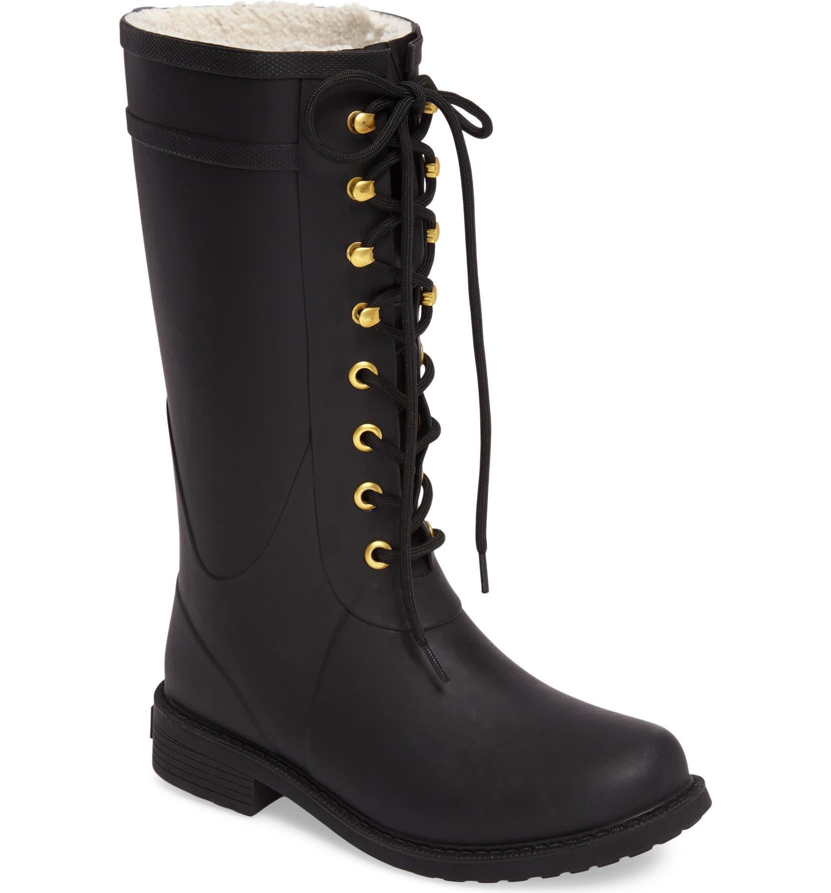 dc6fbe984 Sam Edelman Kay Lace-Up Rain Boot (Women)