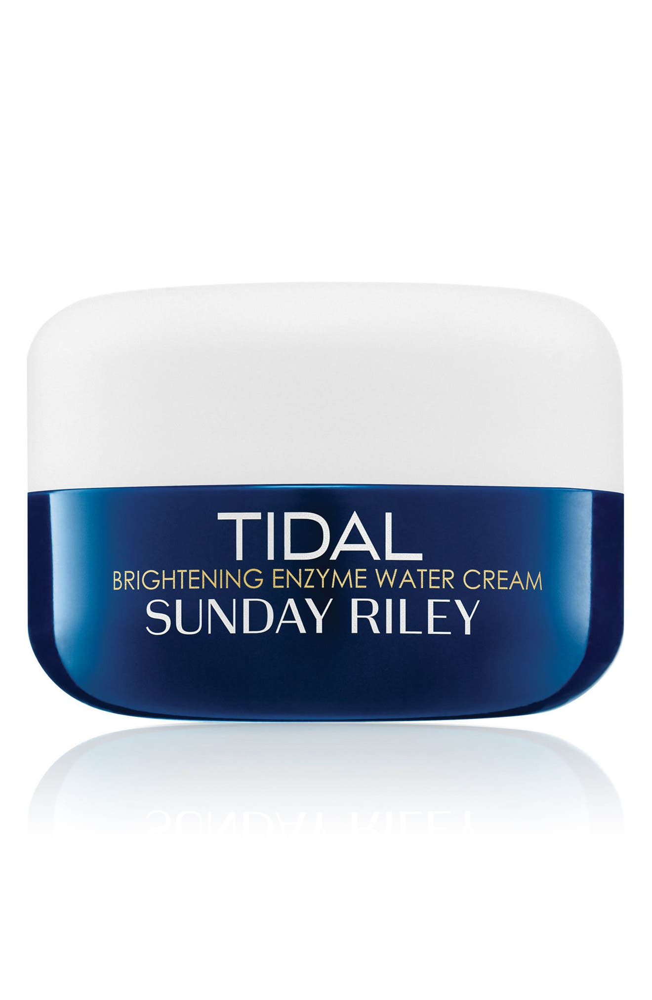 SUNDAY RILEY, SPACE.NK.apothecary Sunday Riley Tidal Brightening Enzyme Water Cream, Main thumbnail 1, color, NO COLOR