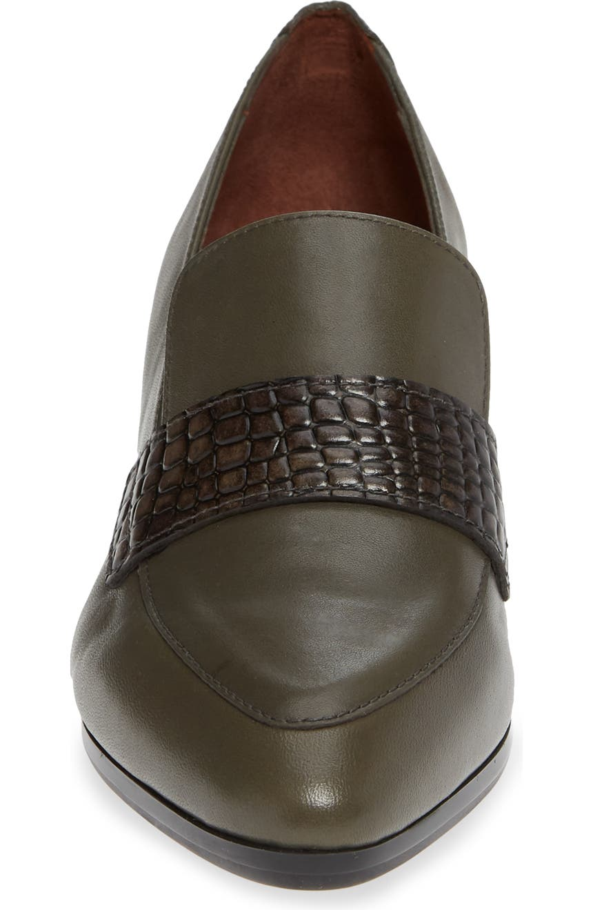 bd2d62bf9b7 Hispanitas Gabrianna Block Heel Loafer (Women)