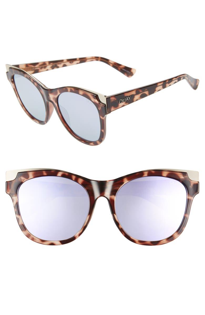 c352b388ad Quay Australia It s My Way 56mm Cat Eye Sunglasses