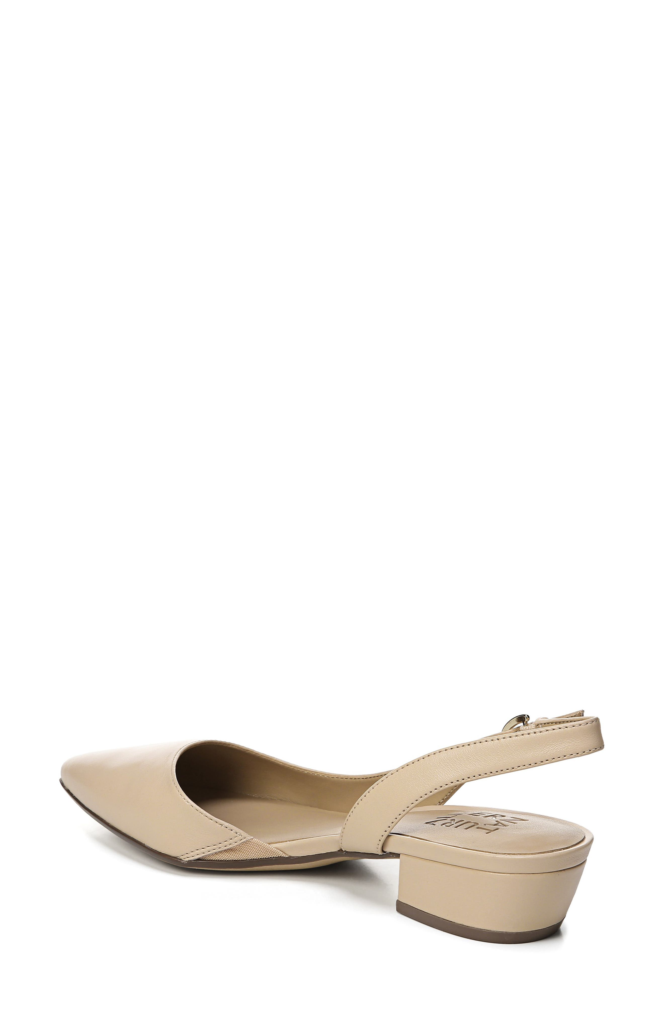 NATURALIZER, Banks Pump, Alternate thumbnail 2, color, SOFT NUDE LEATHER