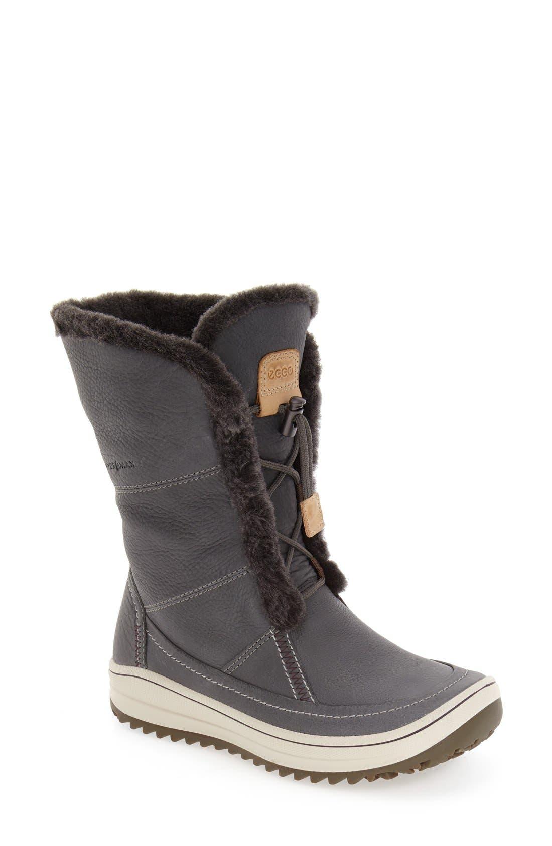 ECCO 'Trace' Snow Boot, Main, color, 077