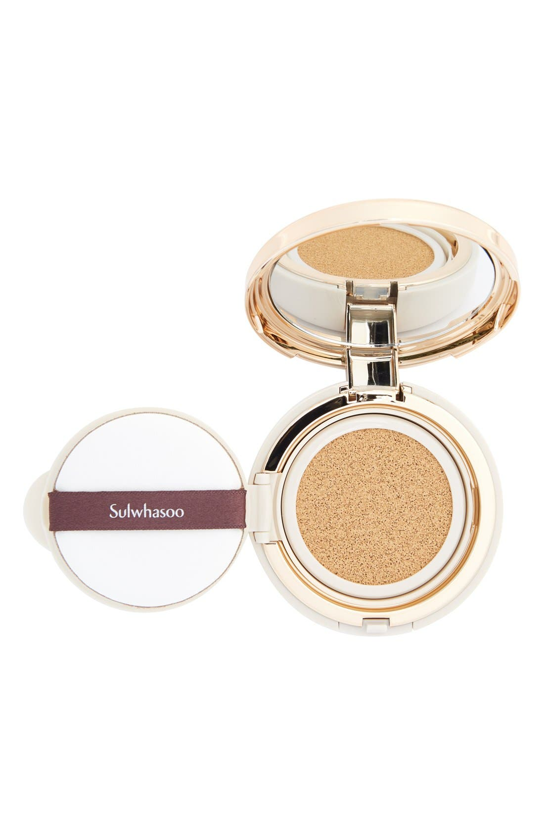 SULWHASOO, 'Perfecting Cushion' Foundation Compact, Alternate thumbnail 5, color, 23 MEDIUM BEIGE