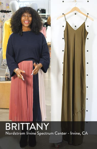 Silk Camisole Gown, sales video thumbnail