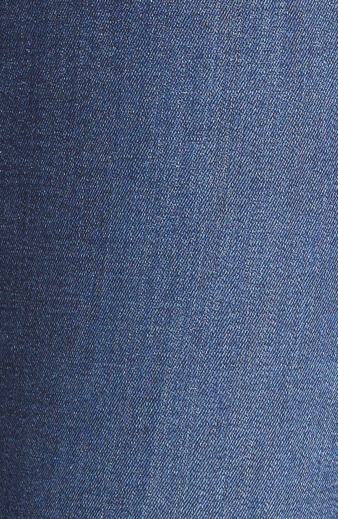 7 FOR ALL MANKIND<SUP>®</SUP>, b(air) Kimmie Straight Leg Jeans, Alternate thumbnail 5, color, DUCHESS