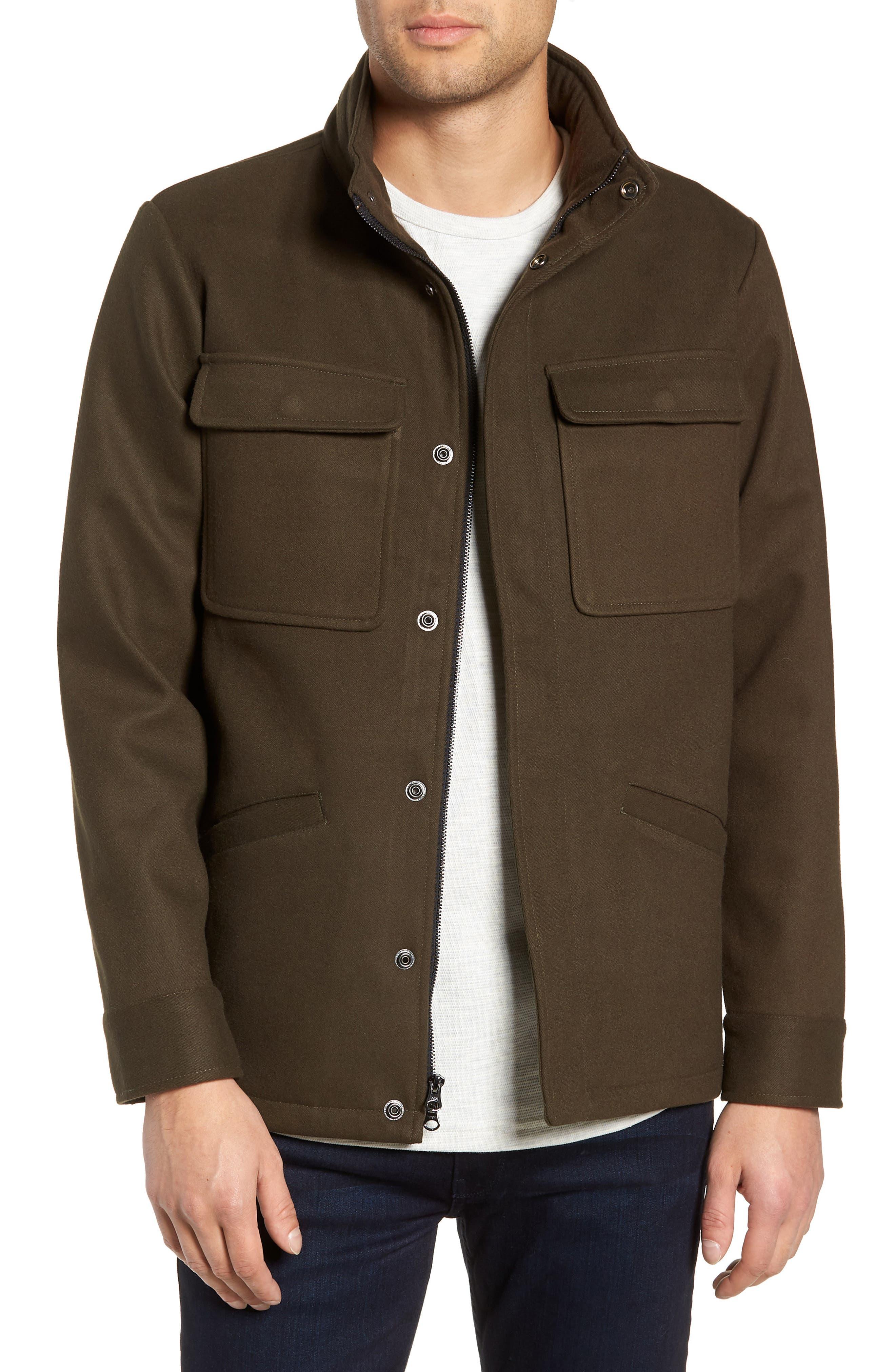 TWENTYMETRICTONS Trim Fit Utility Coat, Main, color, 300