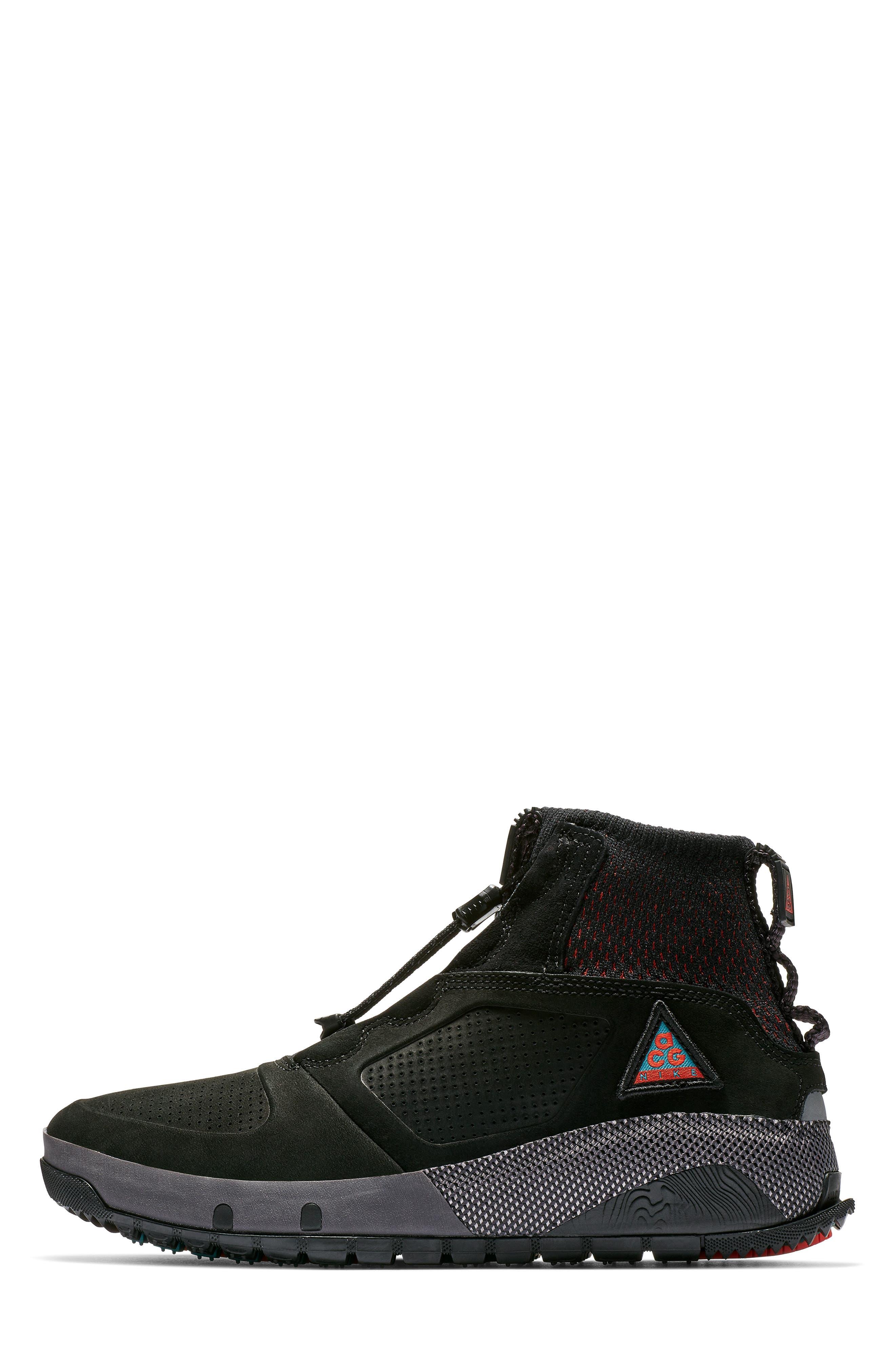 NIKE, ACG Ruckel Ridge Sneaker, Alternate thumbnail 3, color, 002